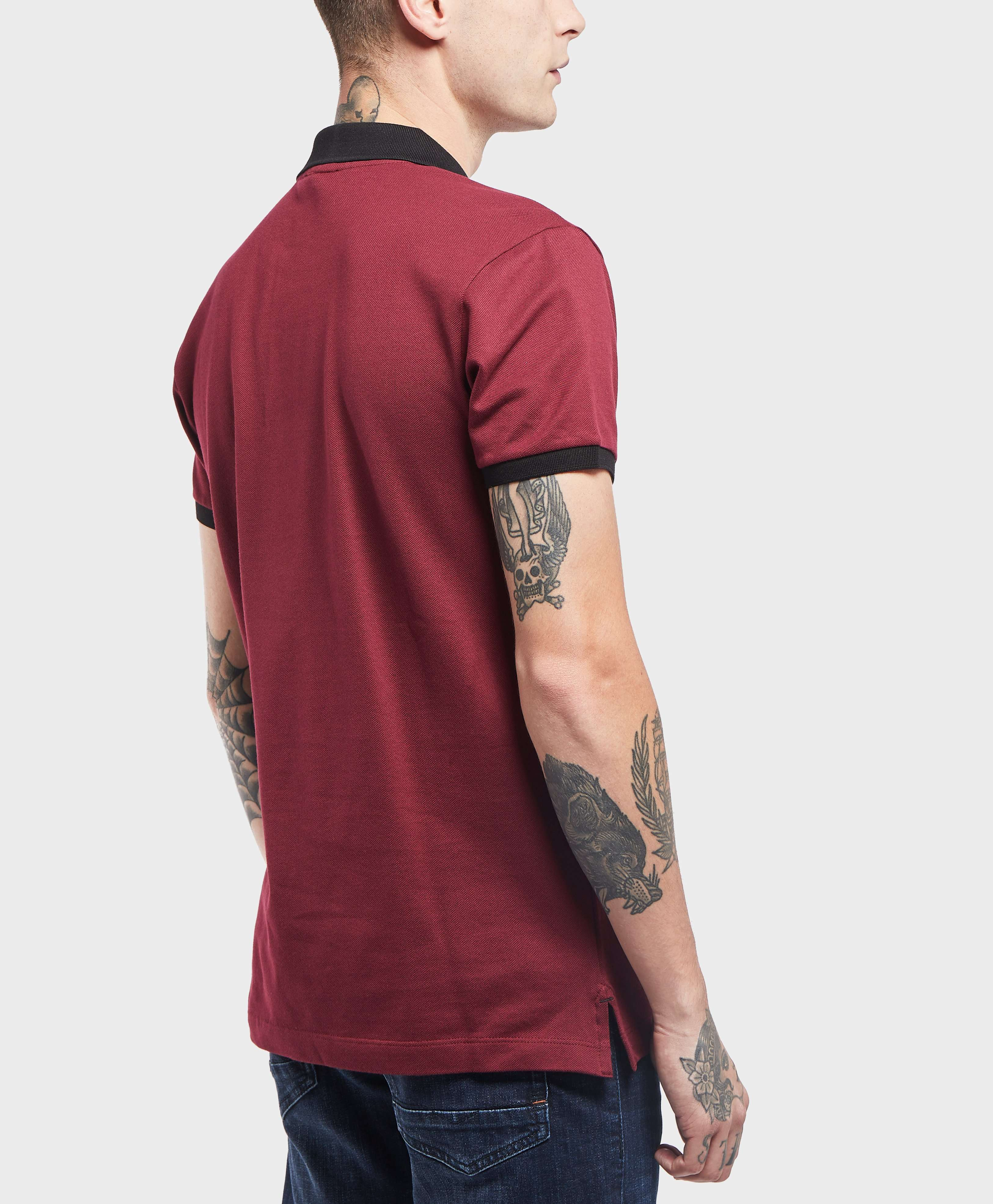 Paul and Shark Contrast Short Sleeve Polo Shirt - Exclusive