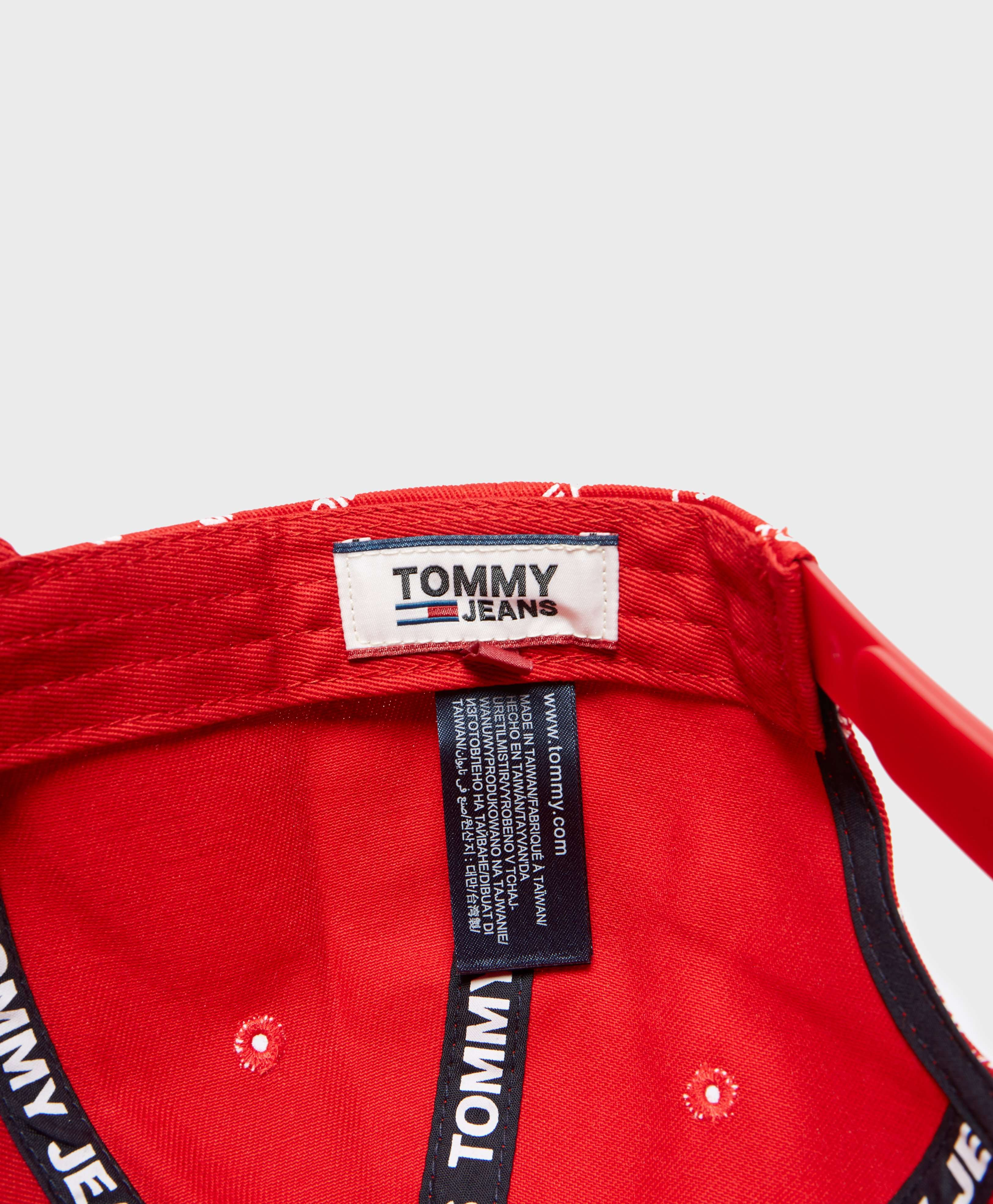 Tommy Jeans Printed Flag Cap - Online Exclusive