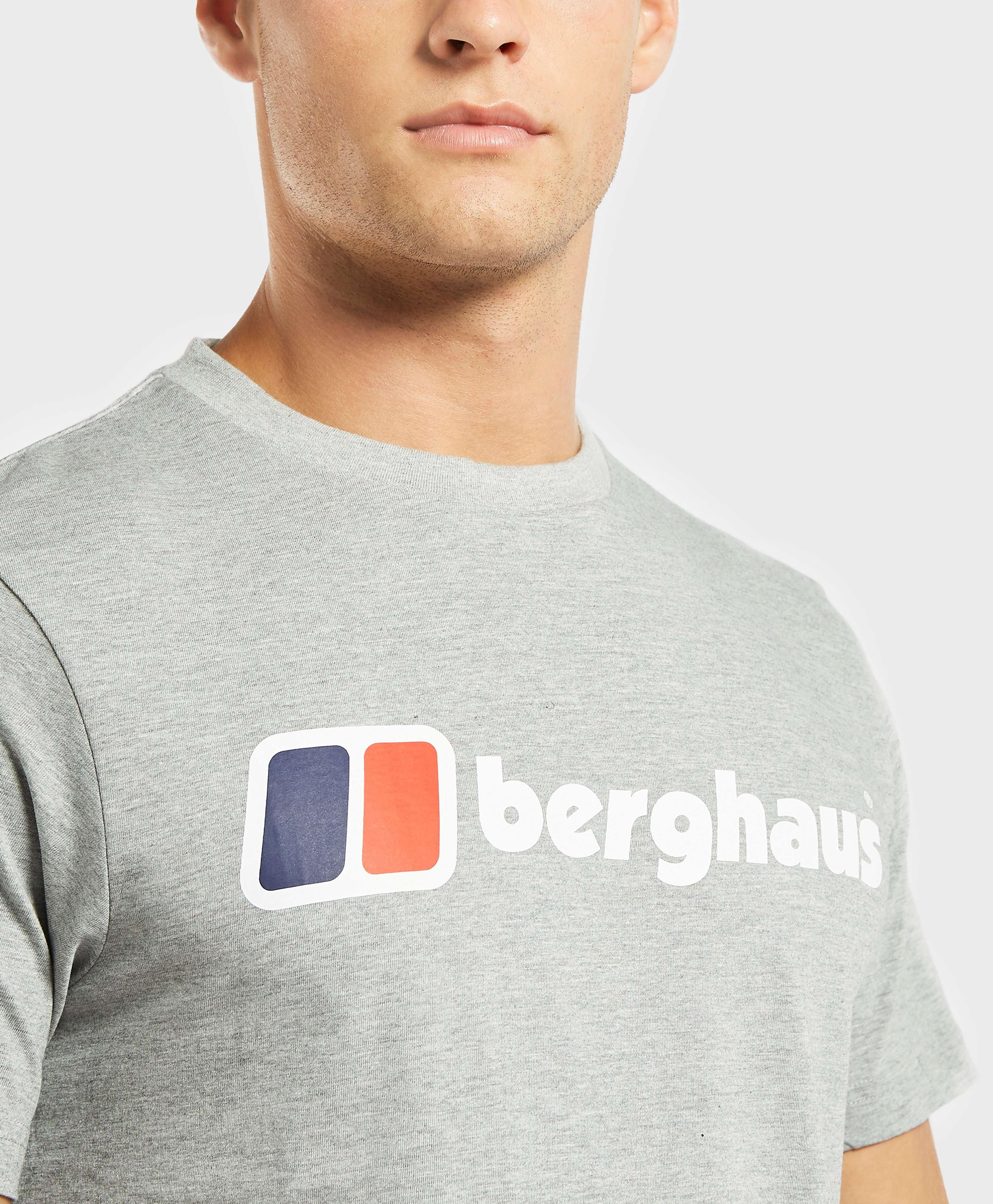 Berghaus Blocks Logo Short Sleeve T-Shirt
