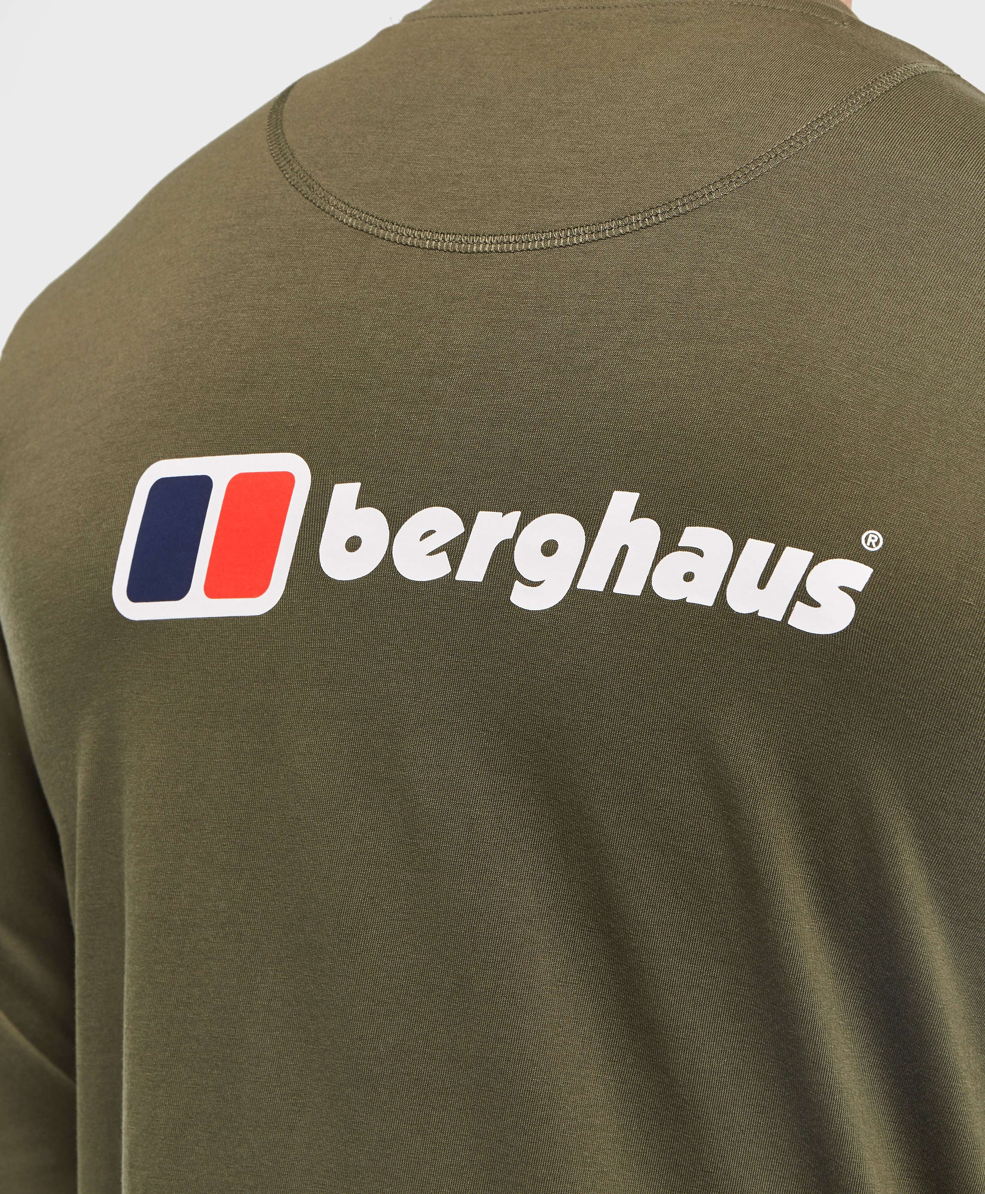 Berghaus Back Print Long Sleeve T-Shirt - Online Exclusive
