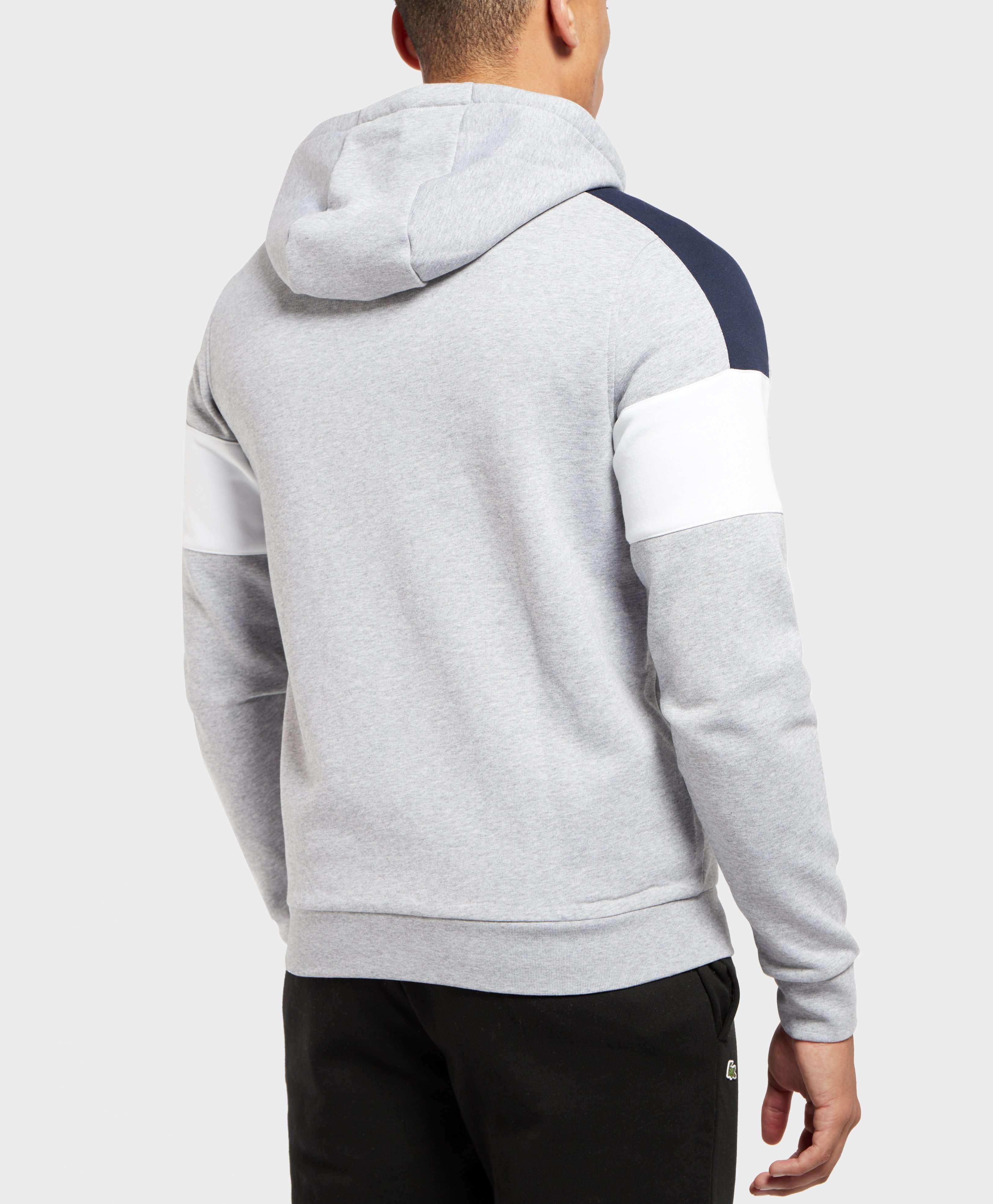 Lacoste Block Fleece Full Zip Hoodie