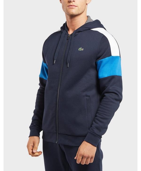 a67b98a42d129c Lacoste Block Fleece Full Zip Hoodie