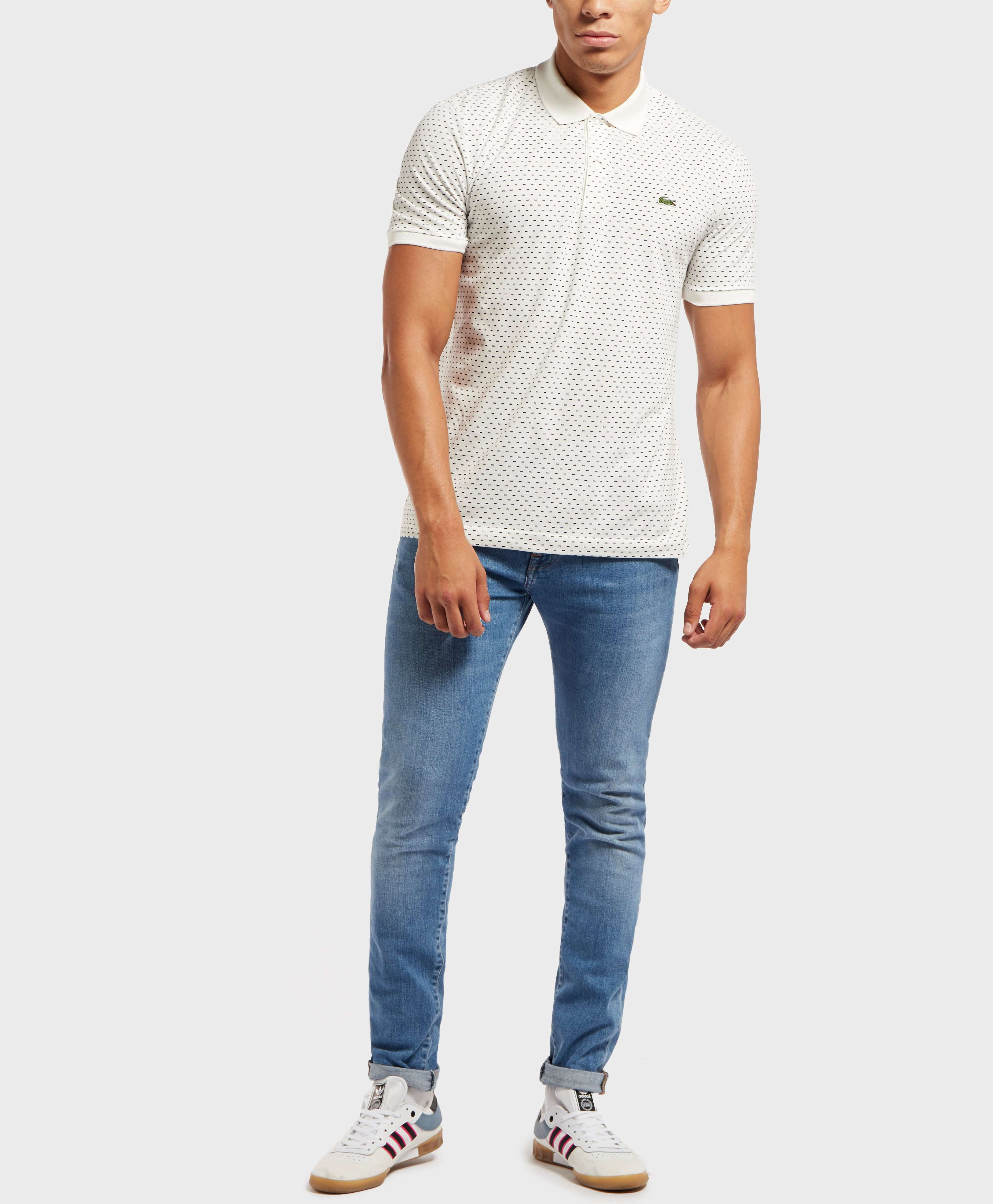 Lacoste Dash Print Short Sleeve Polo Shirt - Exclusive