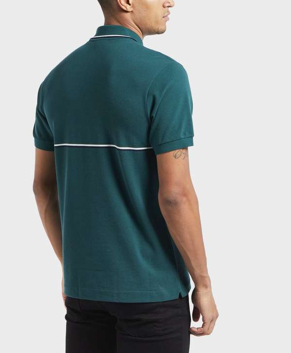 Lacoste Vintage Logo Tipped Short Sleeve Polo Shirt  0ed3ab9a8a1c3