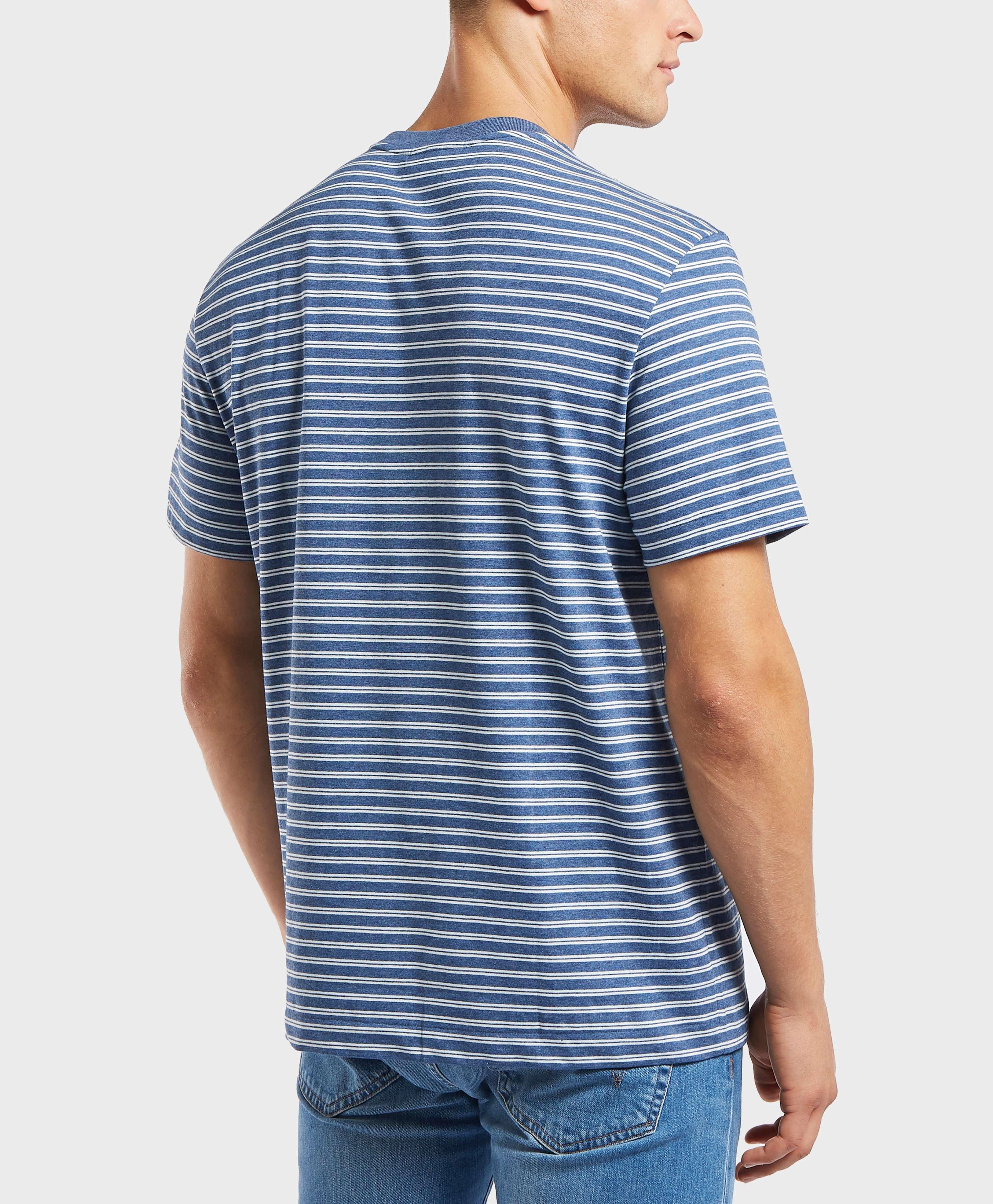 Lacoste Stripe Jersey Short Sleeve T-Shirt