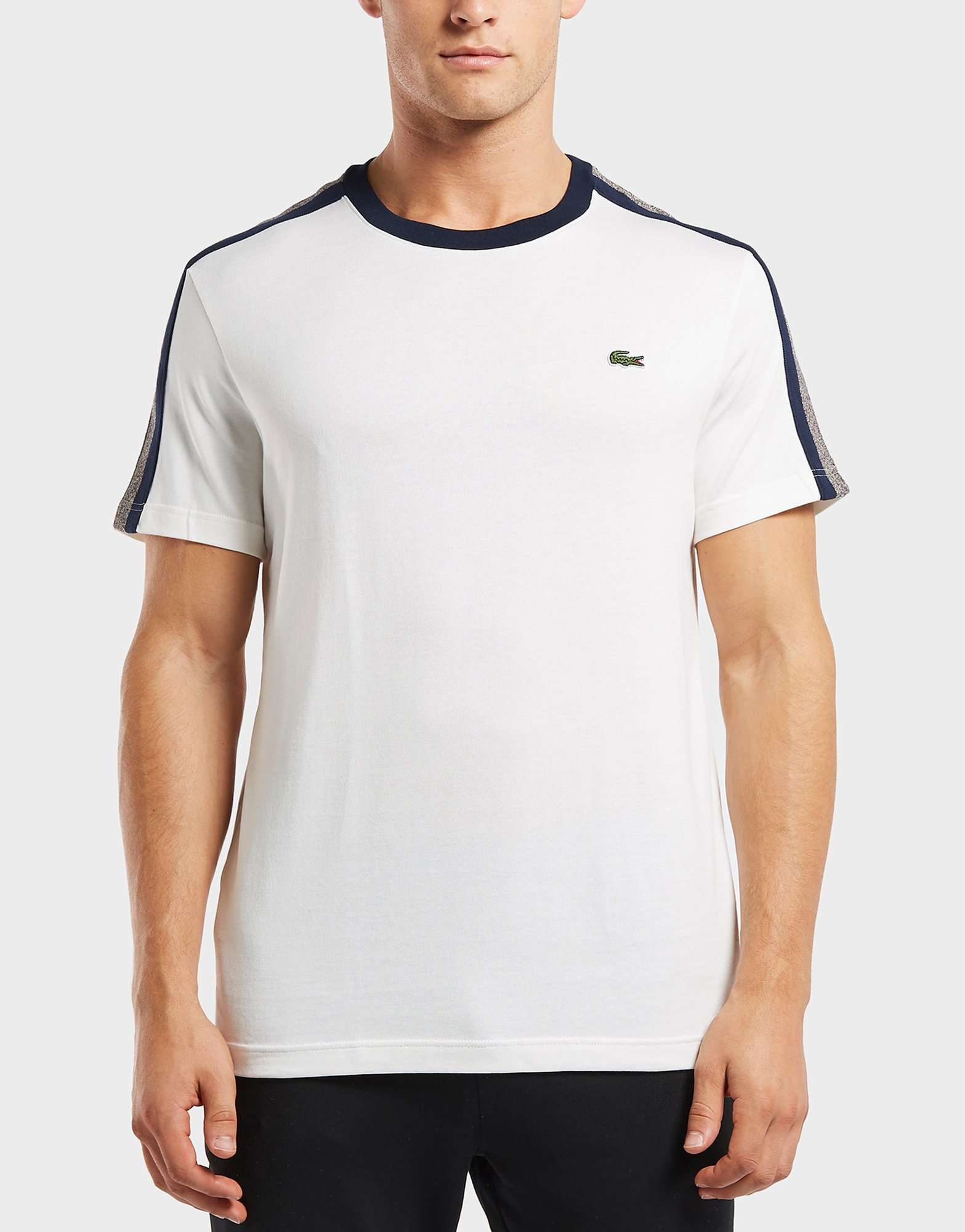 Lacoste Tape Stripe Short Sleeve T-Shirt
