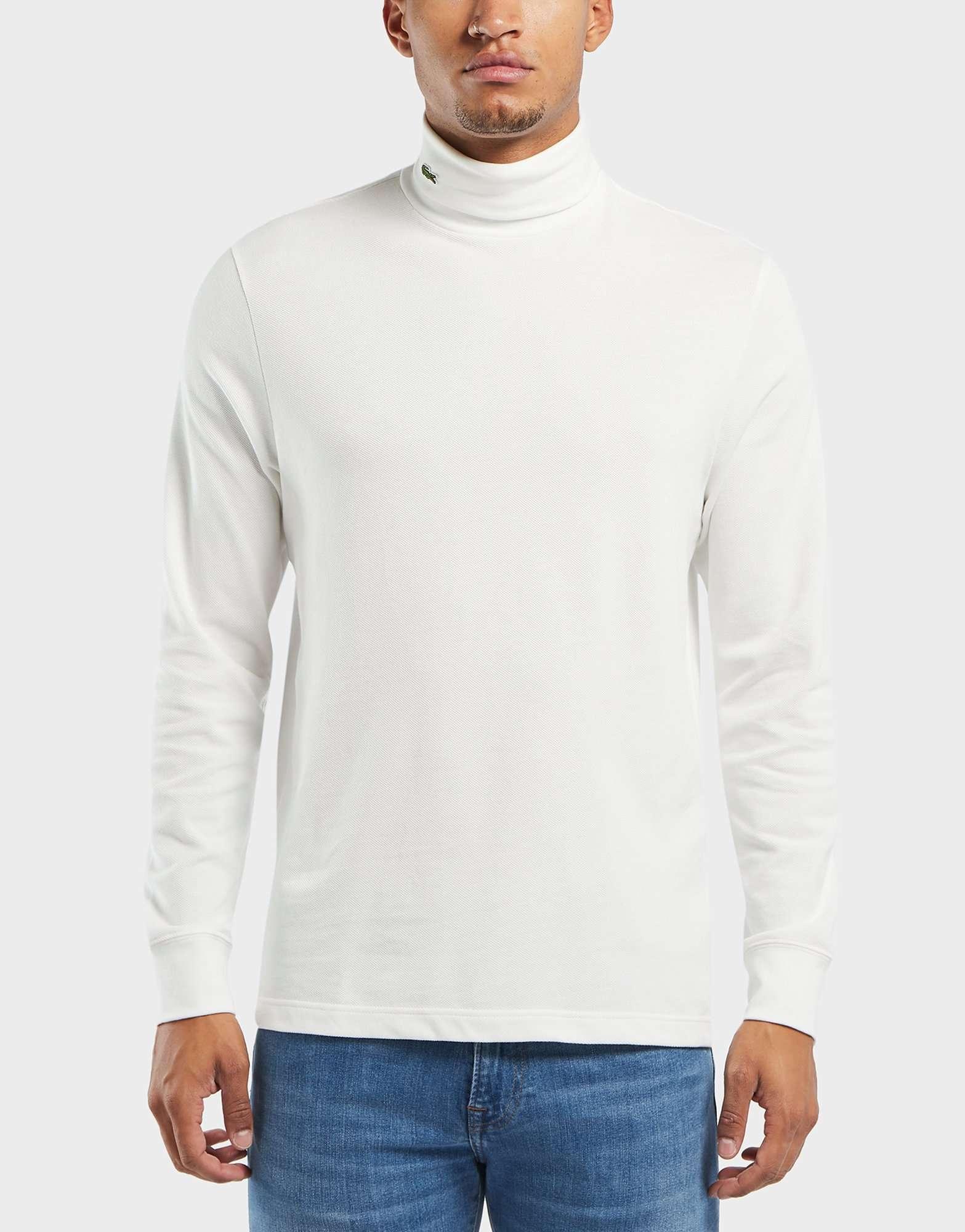 Lacoste Logo Roll Neck Long Sleeve T-Shirt