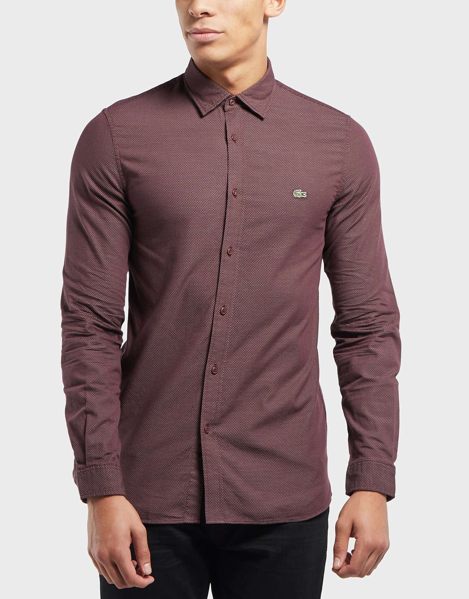 Lacoste Beye Dot Long Sleeve Shirt