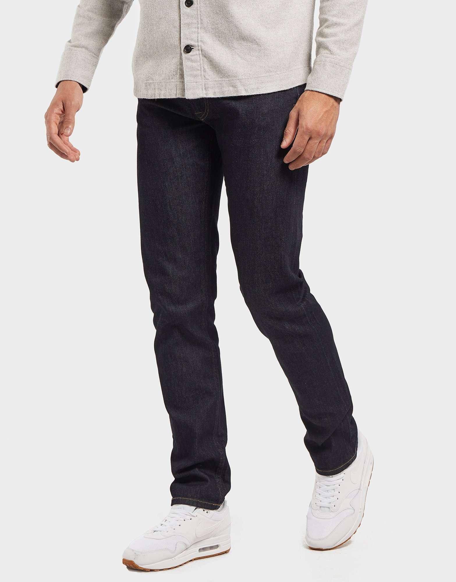 Lacoste Slim Stretch Denim Tapered Jeans