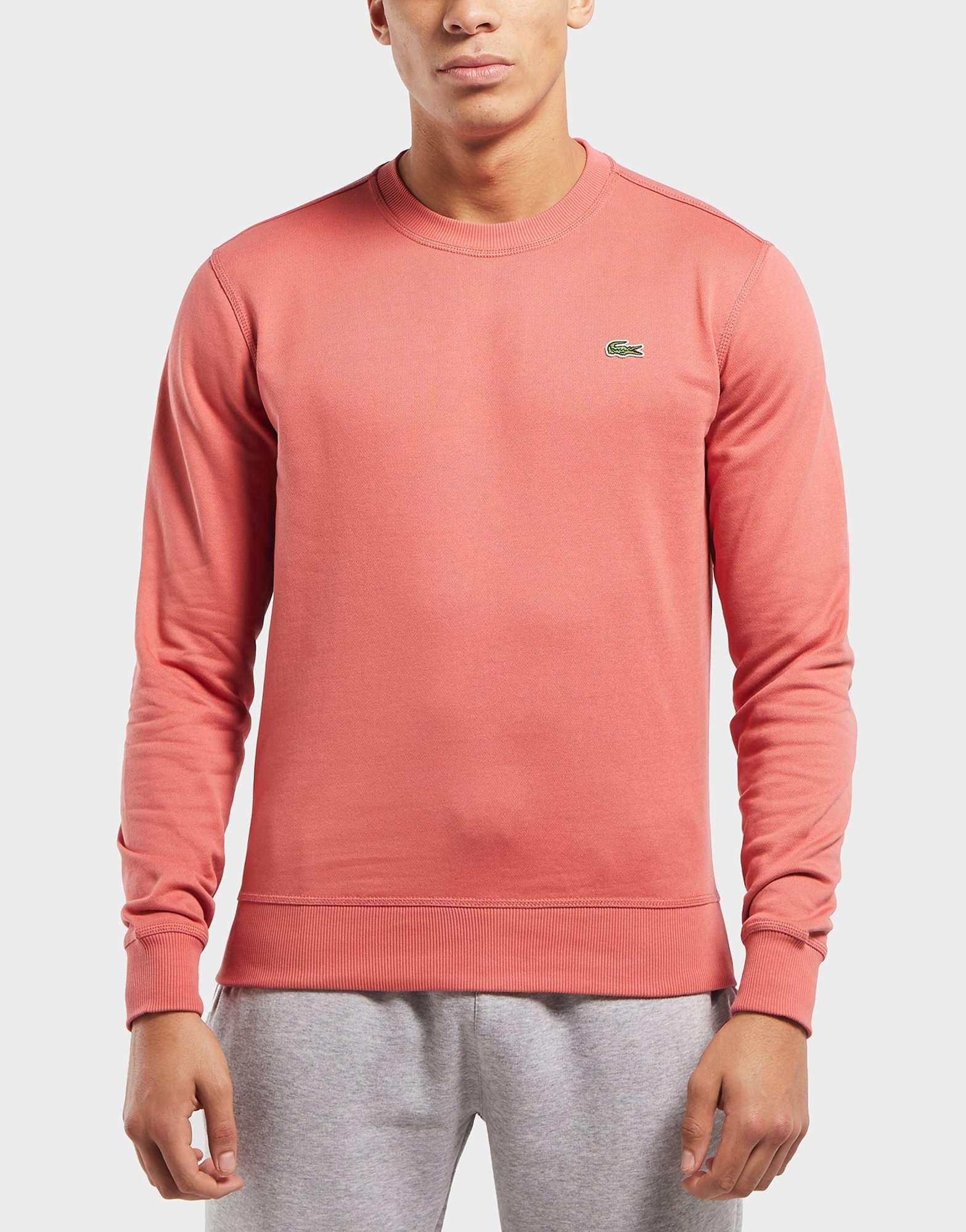 Lacoste Retro Block Crew Sweatshirt