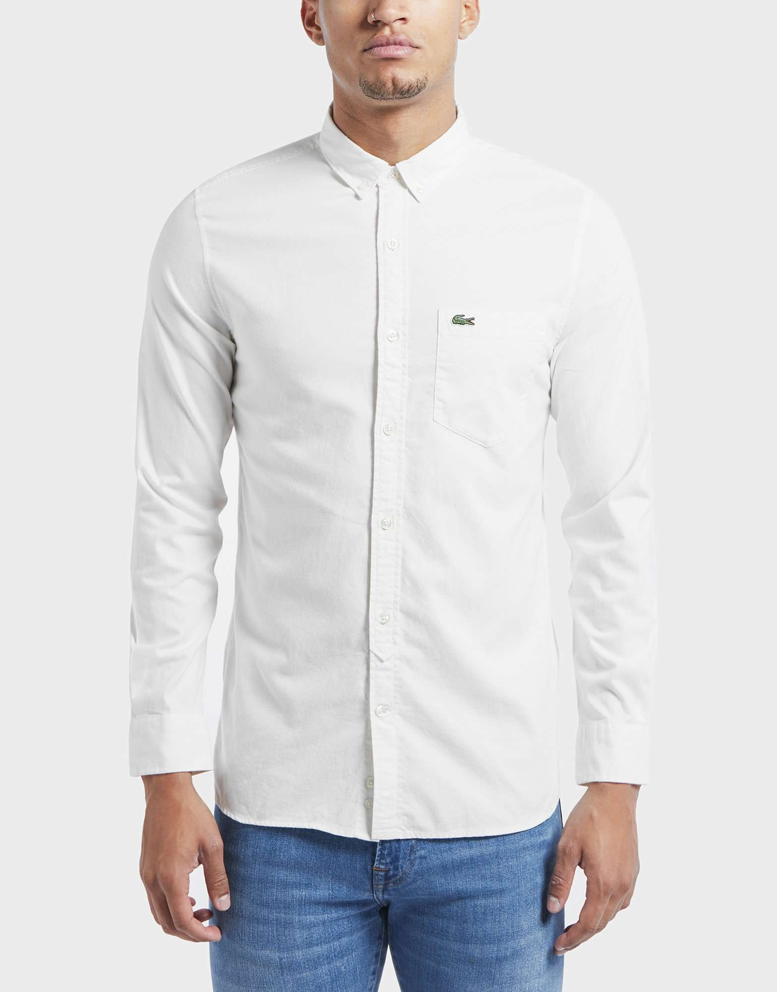 Lacoste Retro Oxford Long Sleeve Shirt