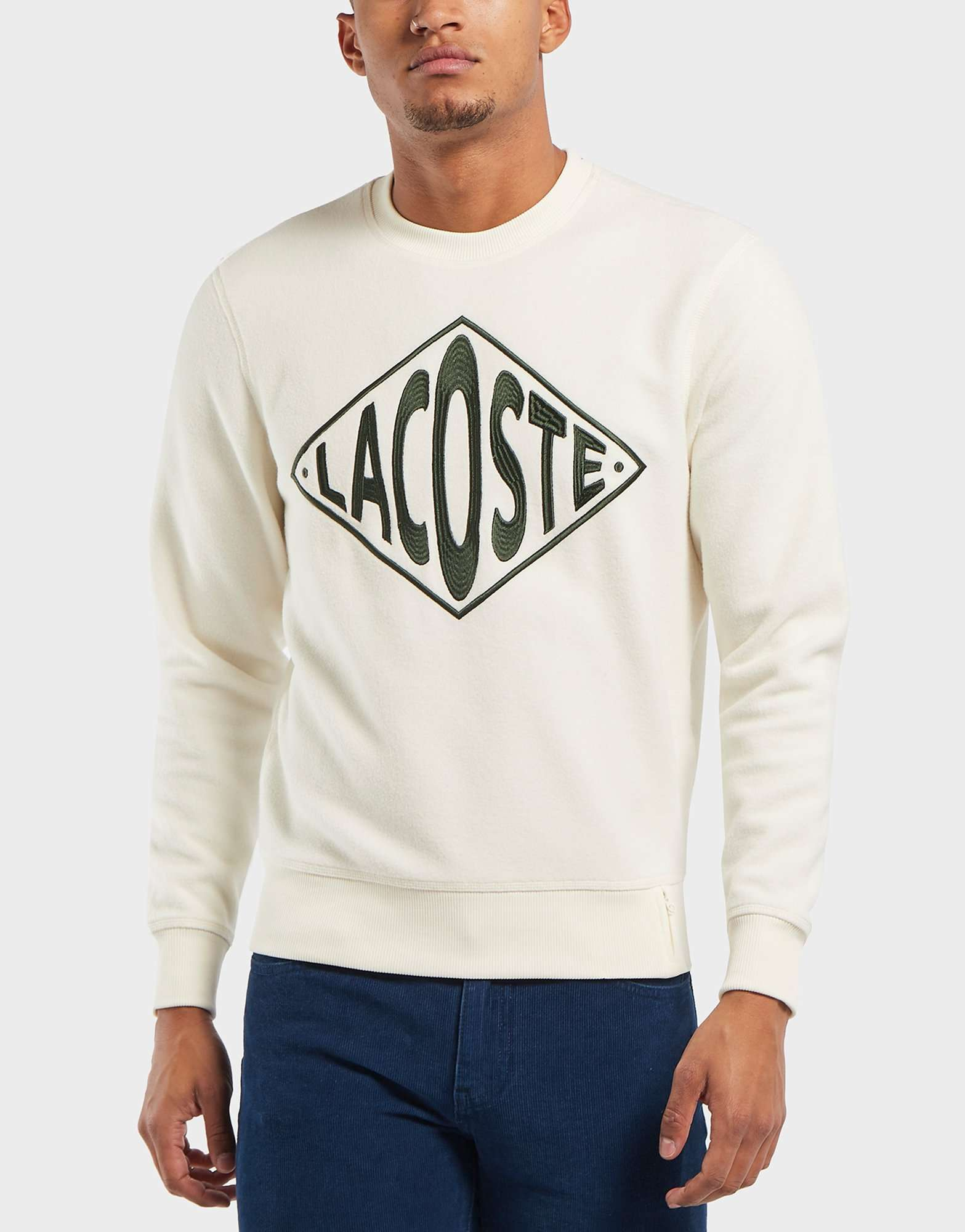 Lacoste Retro Logo Fleece Sweatshirt