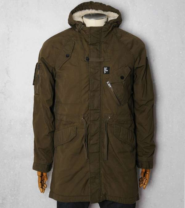 Duck and Cover Chittern Parka  f5237a371f91