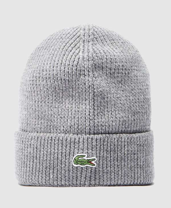 Lacoste Ribbed Beanie  19d3a09bfc6