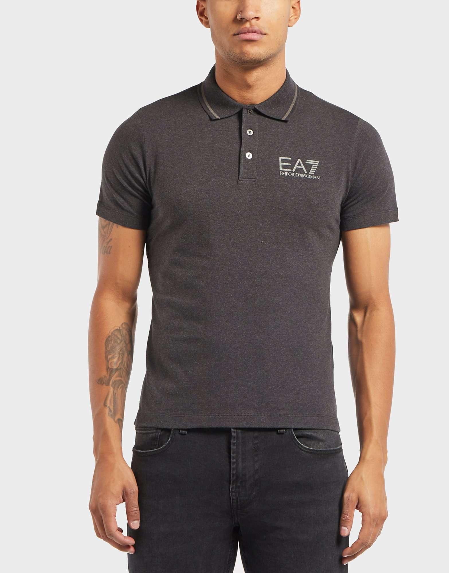 Emporio Armani EA7 Core Jersey Short Sleeve Polo Shirt