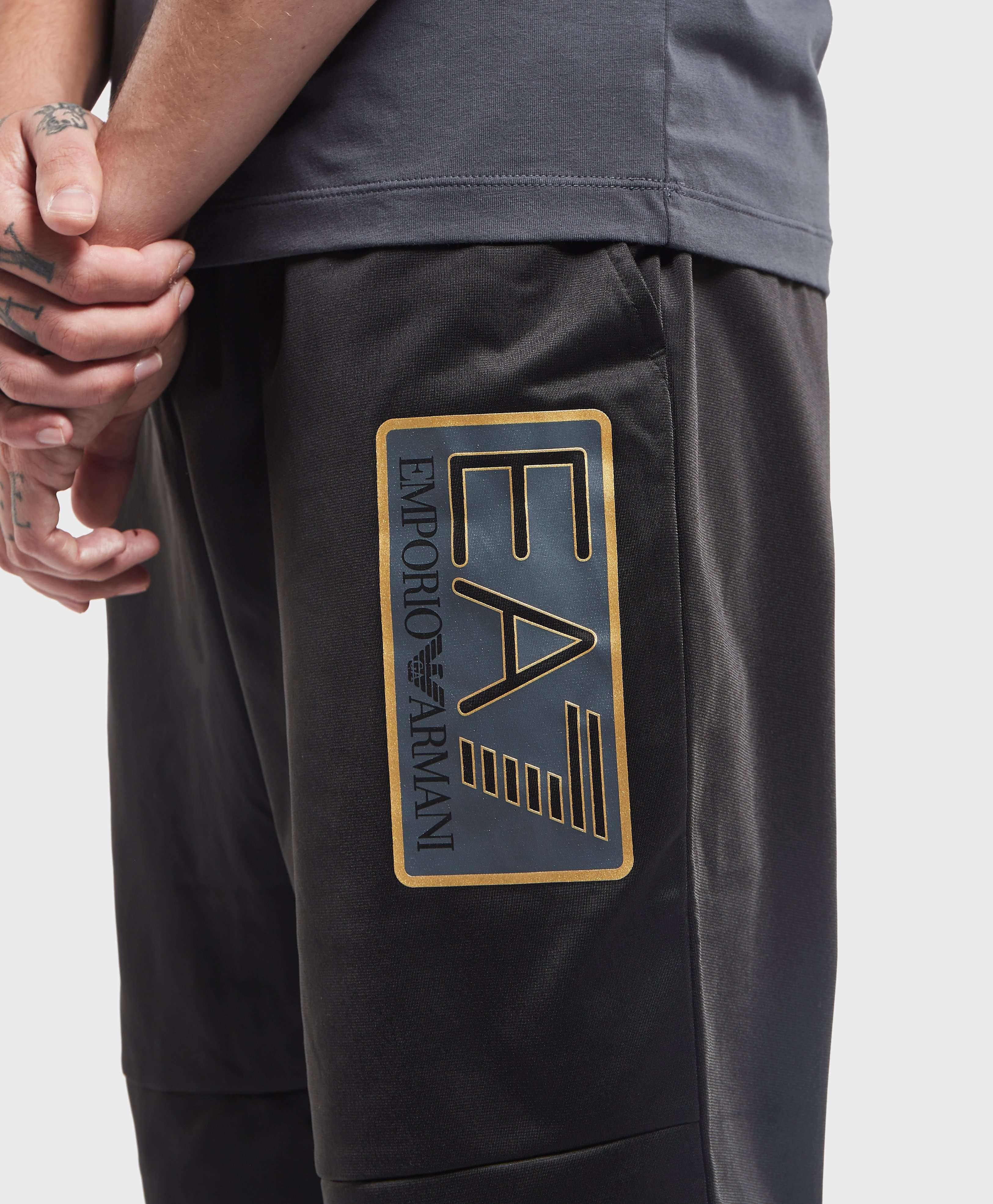 Emporio Armani EA7 Visibility Logo Cuffed Track Pants