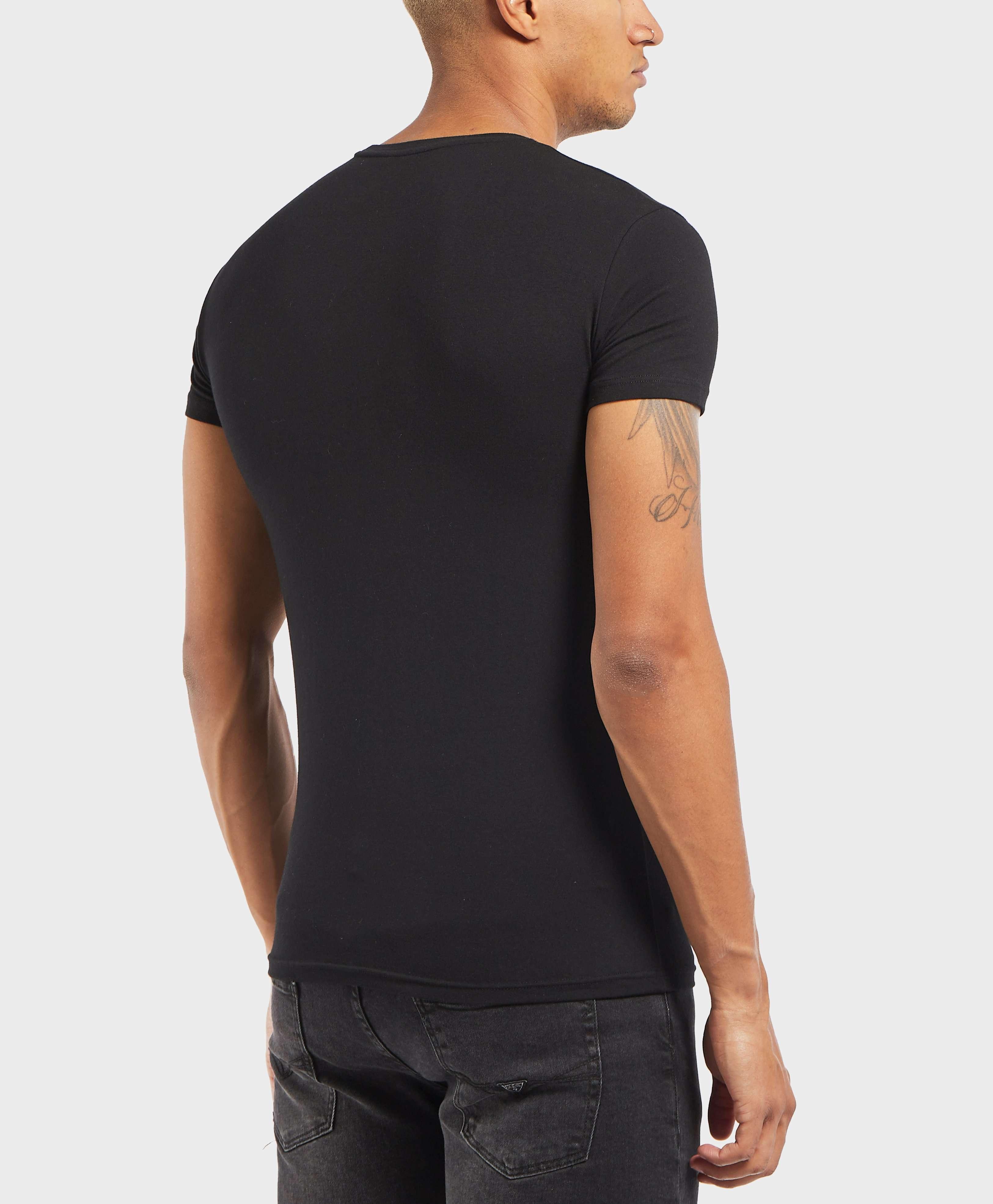 Emporio Armani Eagle Crew Short Sleeve T-Shirt