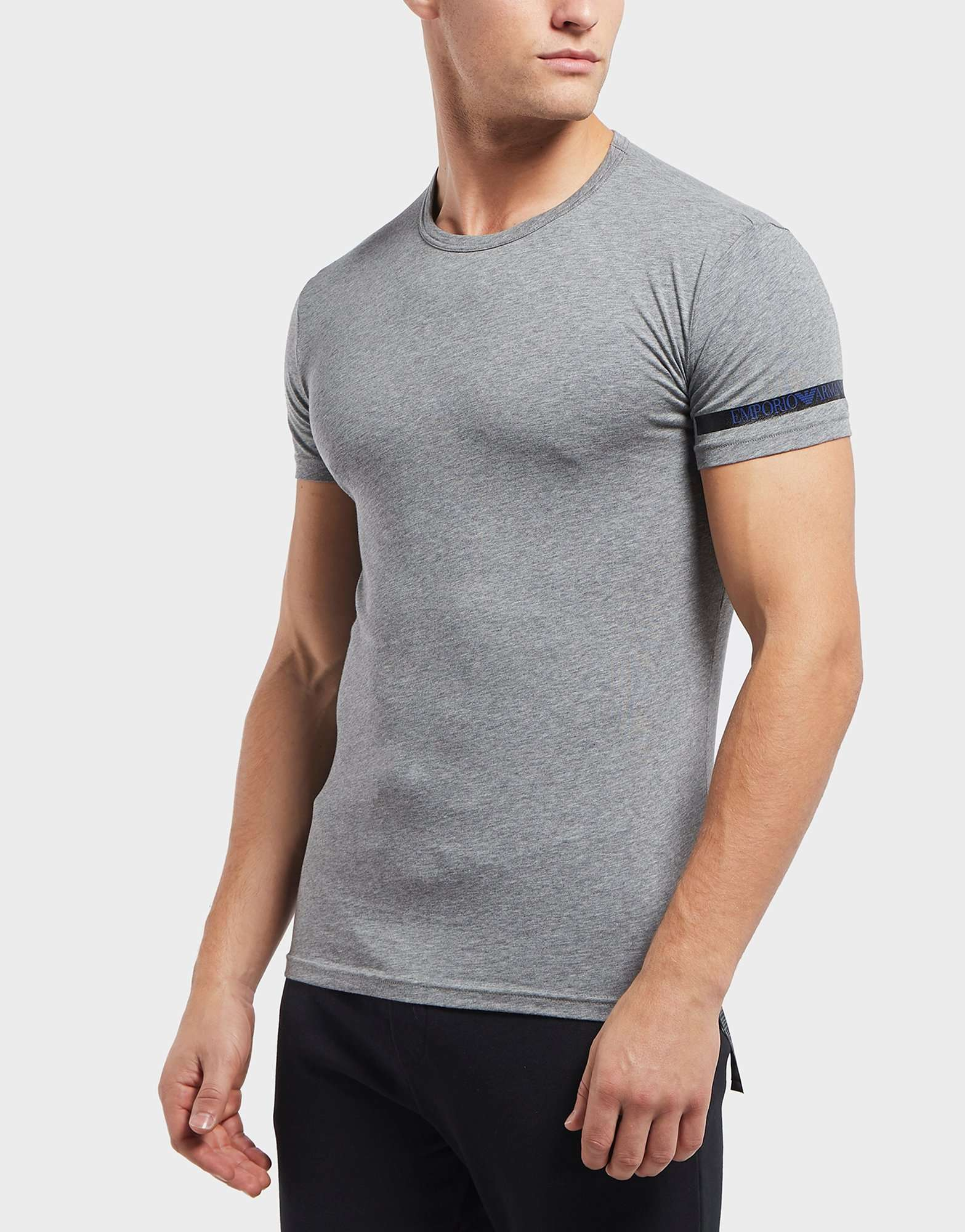 Emporio Armani Tape Logo Short Sleeve T-Shirt