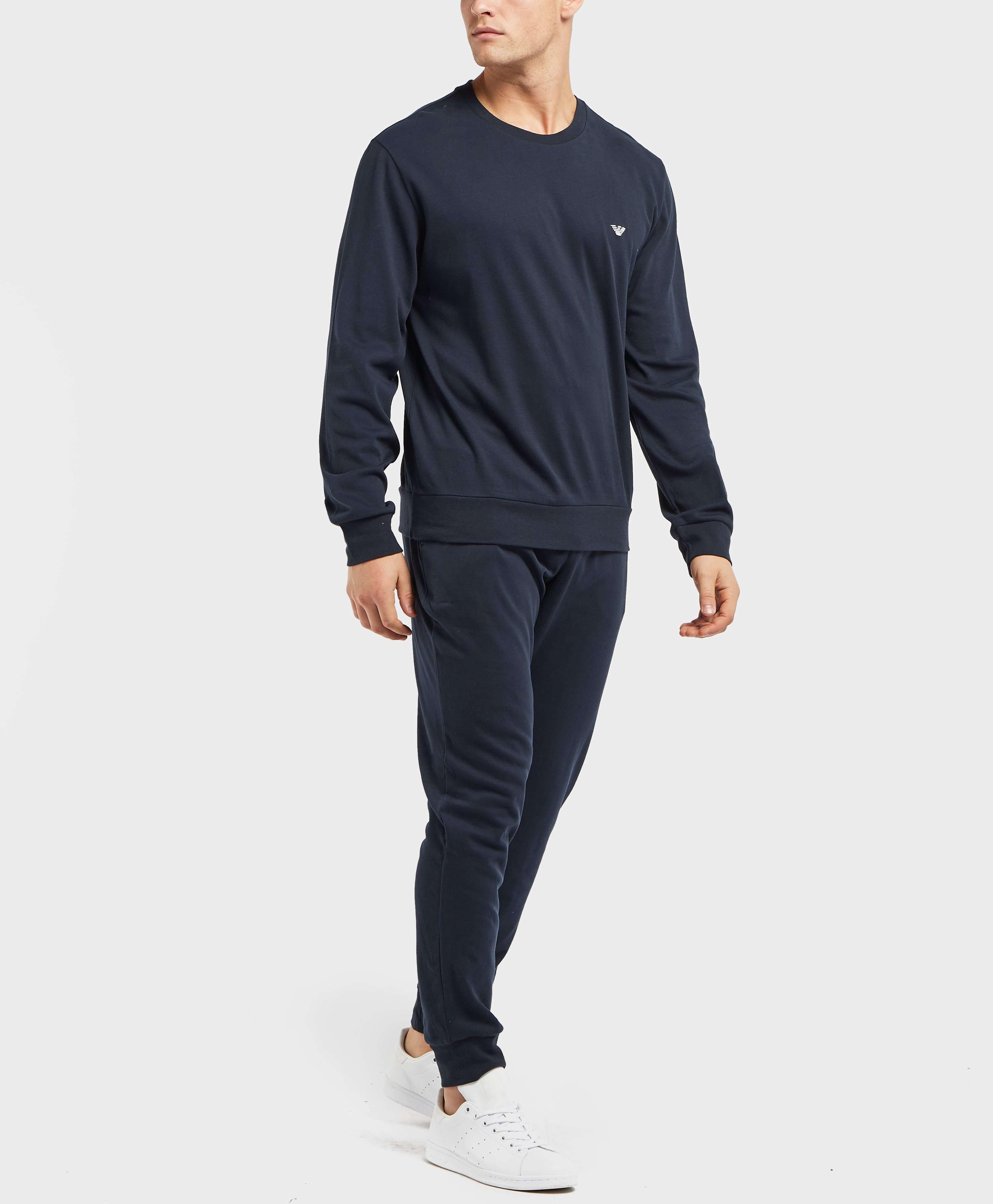 Emporio Armani Small Icon Crew Sweatshirt