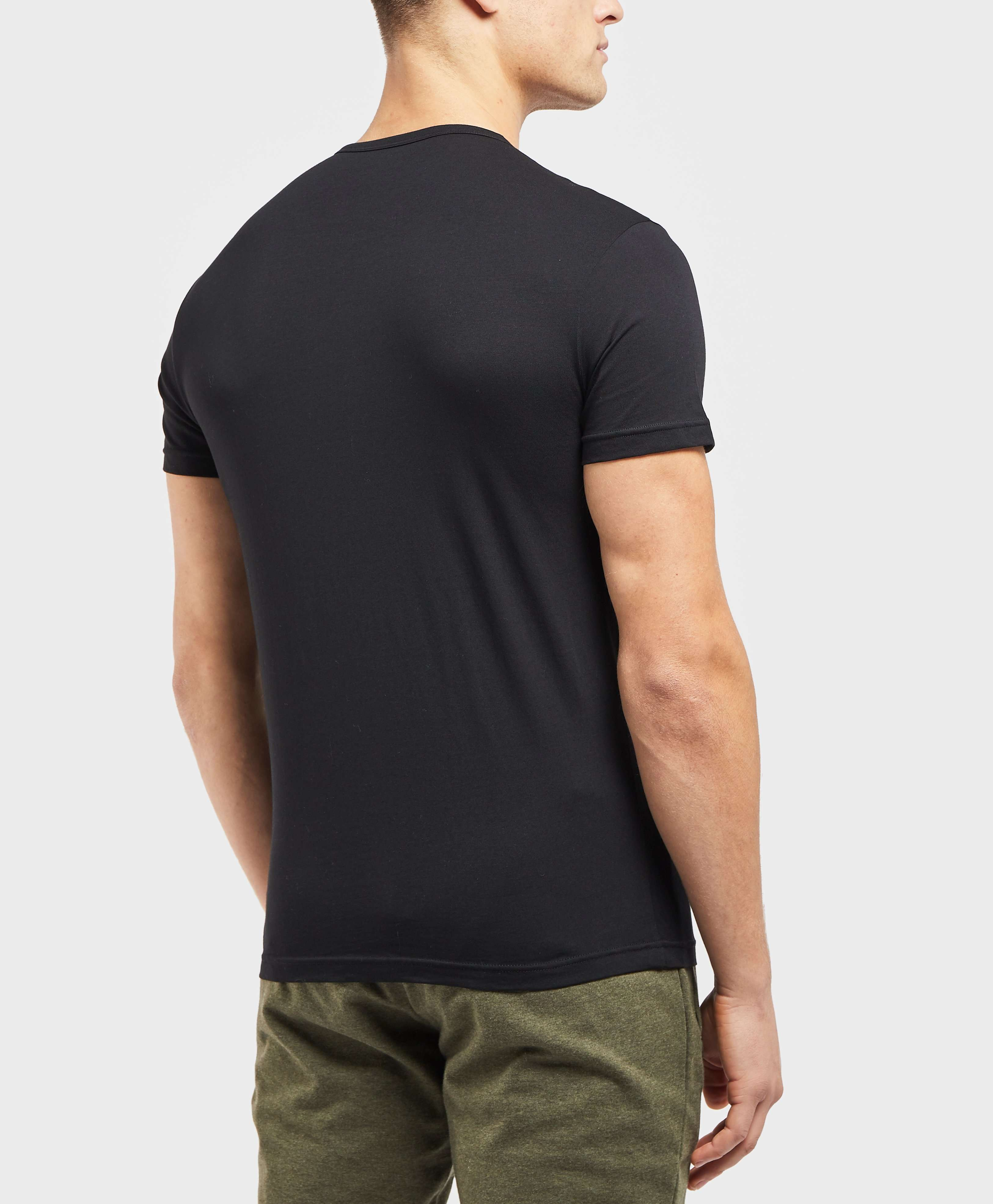 Emporio Armani 2 Pack Short Sleeve T-Shirt
