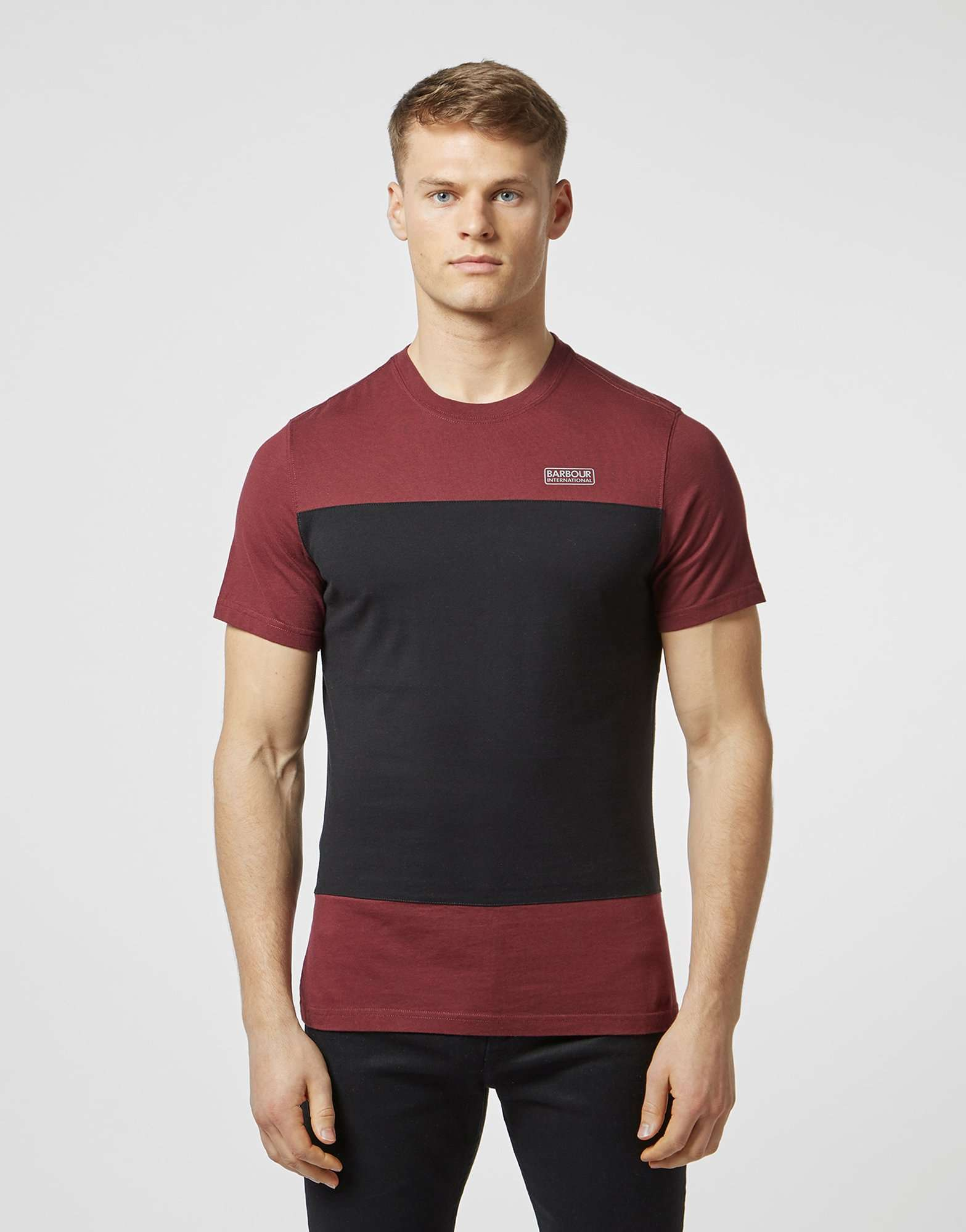 Barbour International Block Panel Short Sleeve T-Shirt