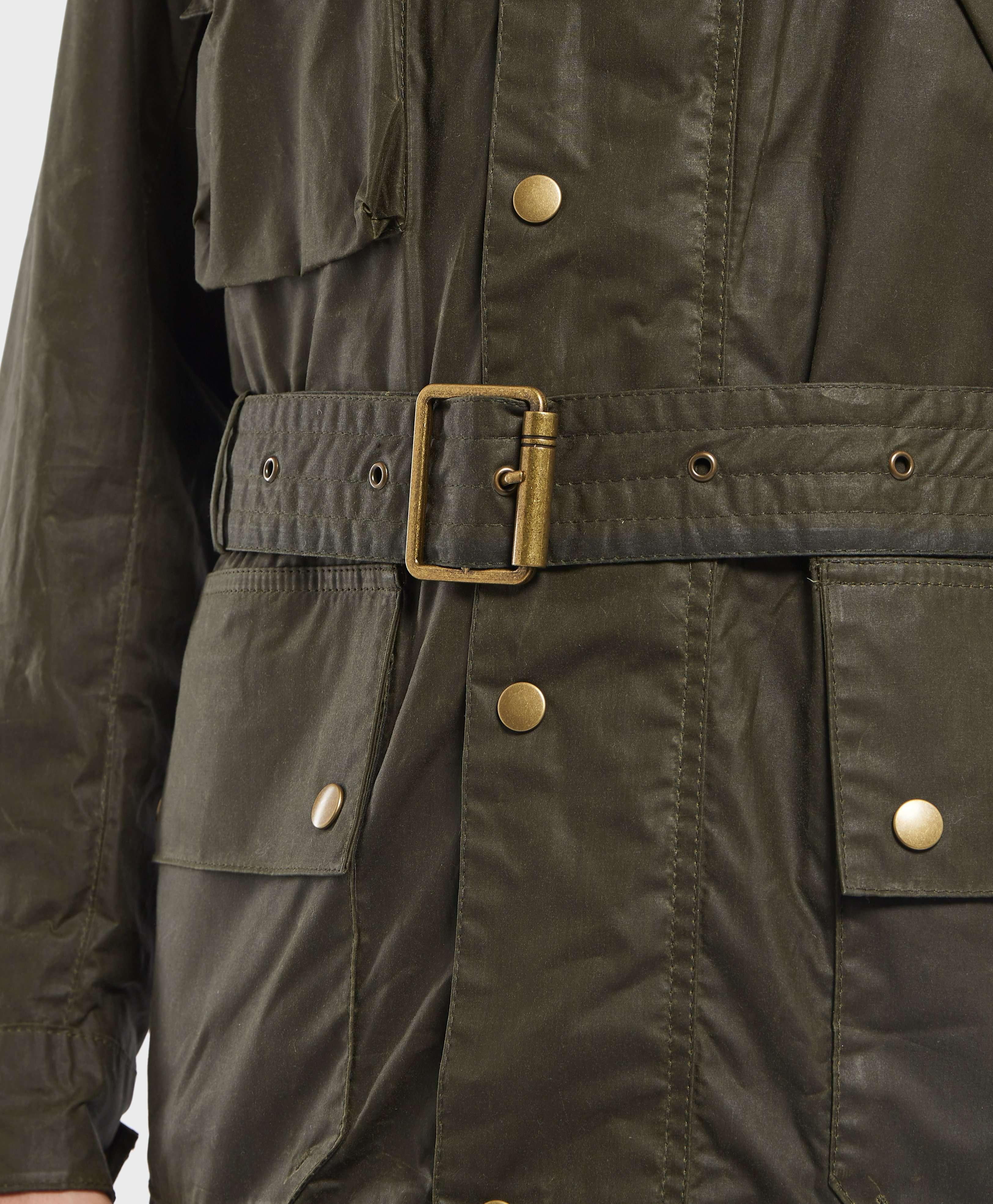 Barbour International Joshua Wax Jacket