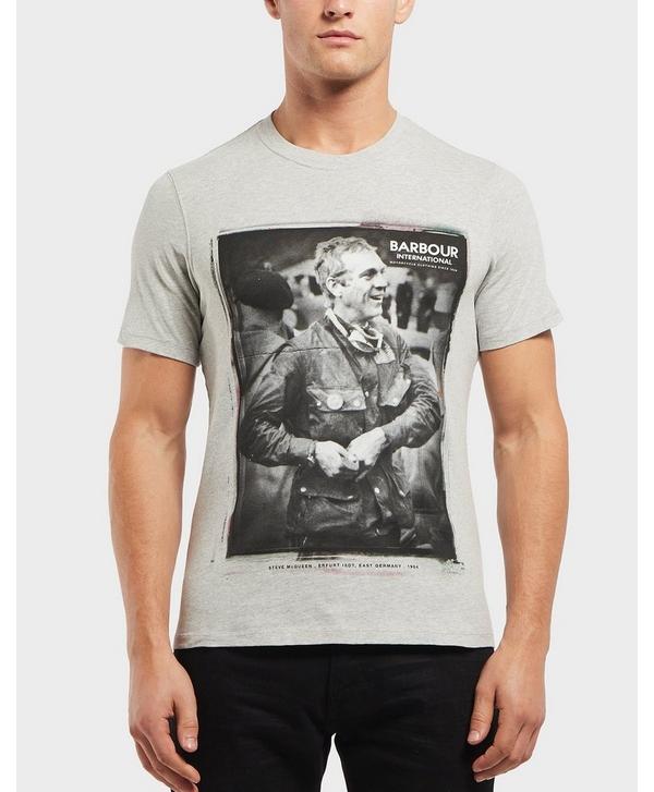 0bceddfa92d Barbour International Steve McQueen Laughter Short Sleeve T-Shirt ...