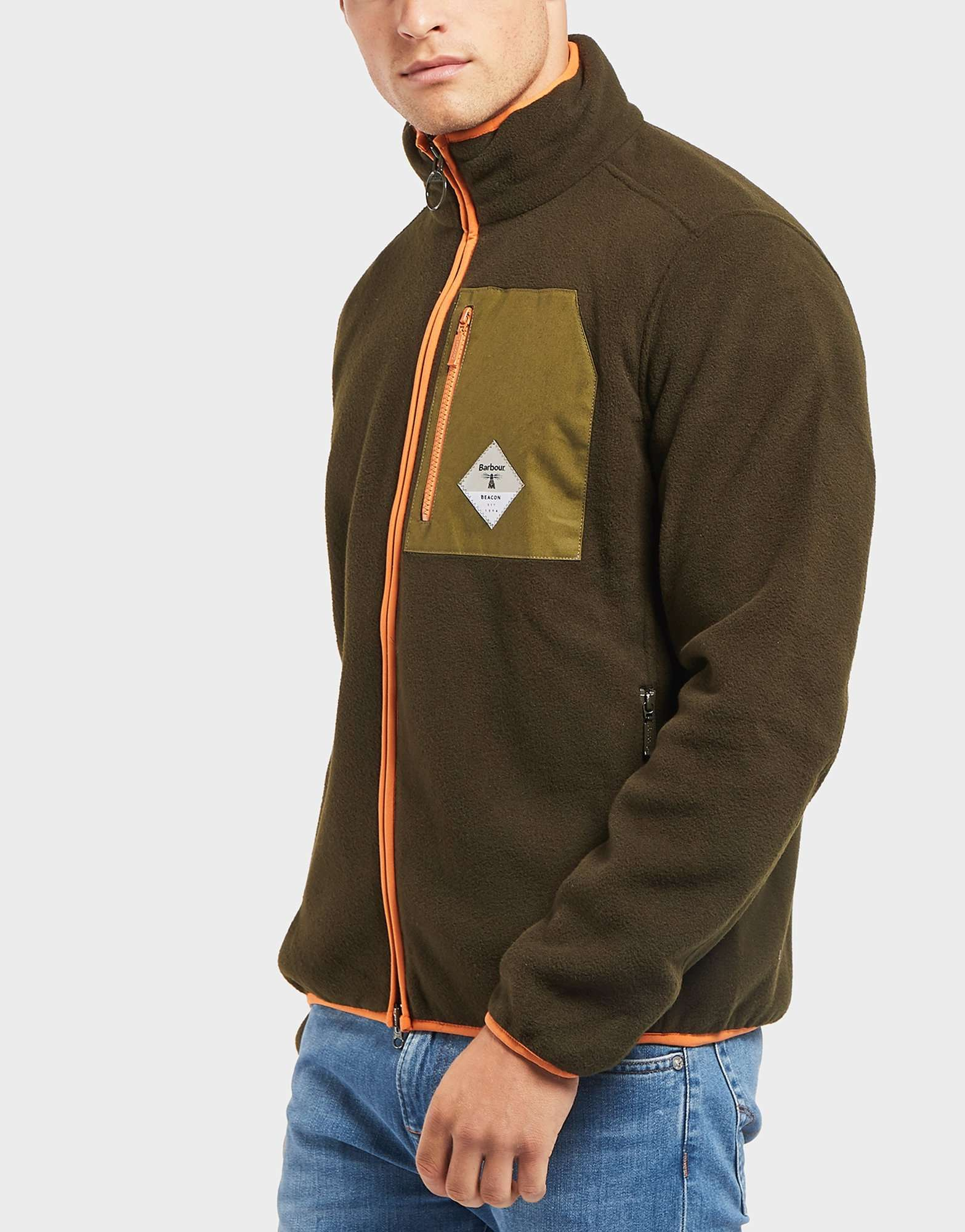 Barbour Beacon Egre Zip Through Fleece Sweat