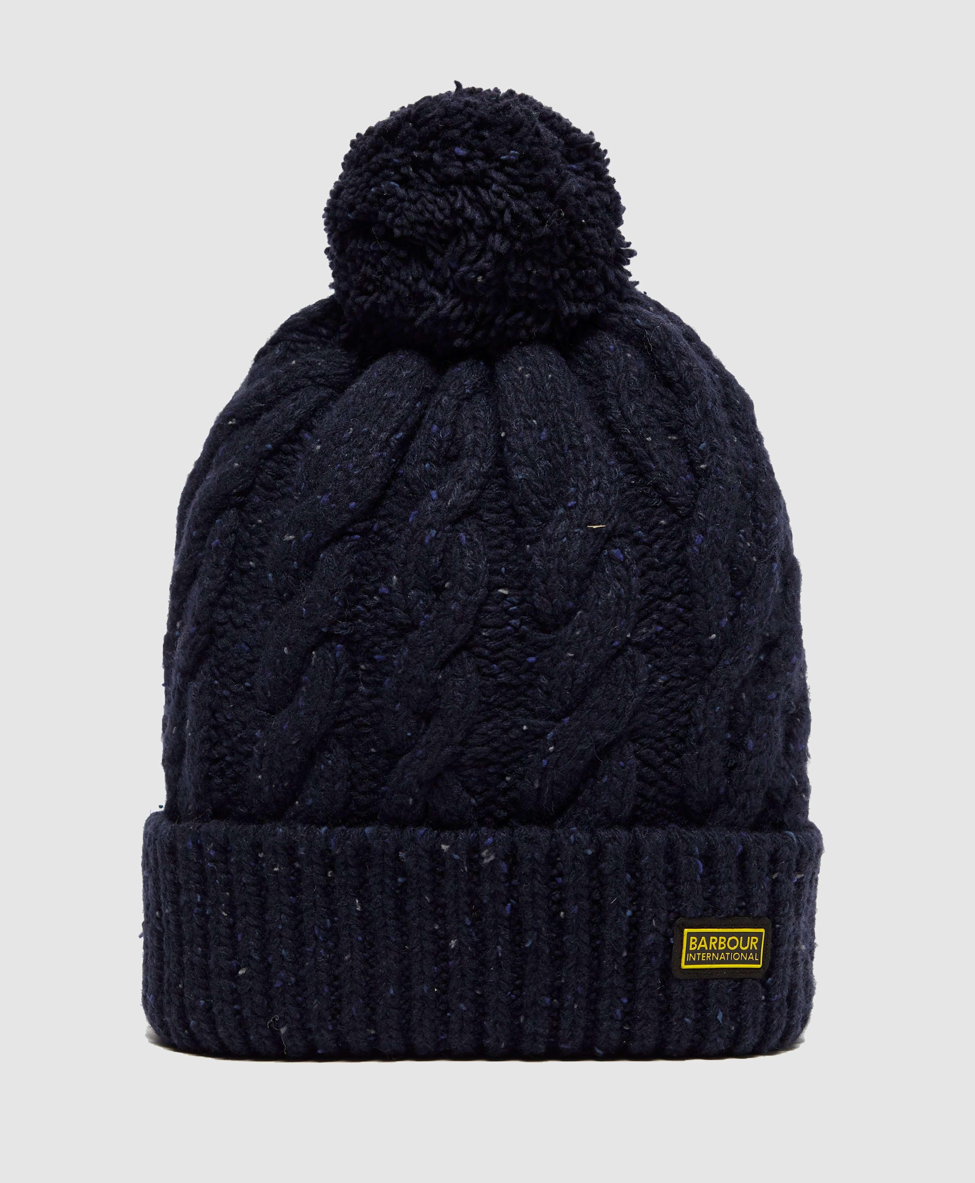 13e458a3828 Barbour International Bobble Hat