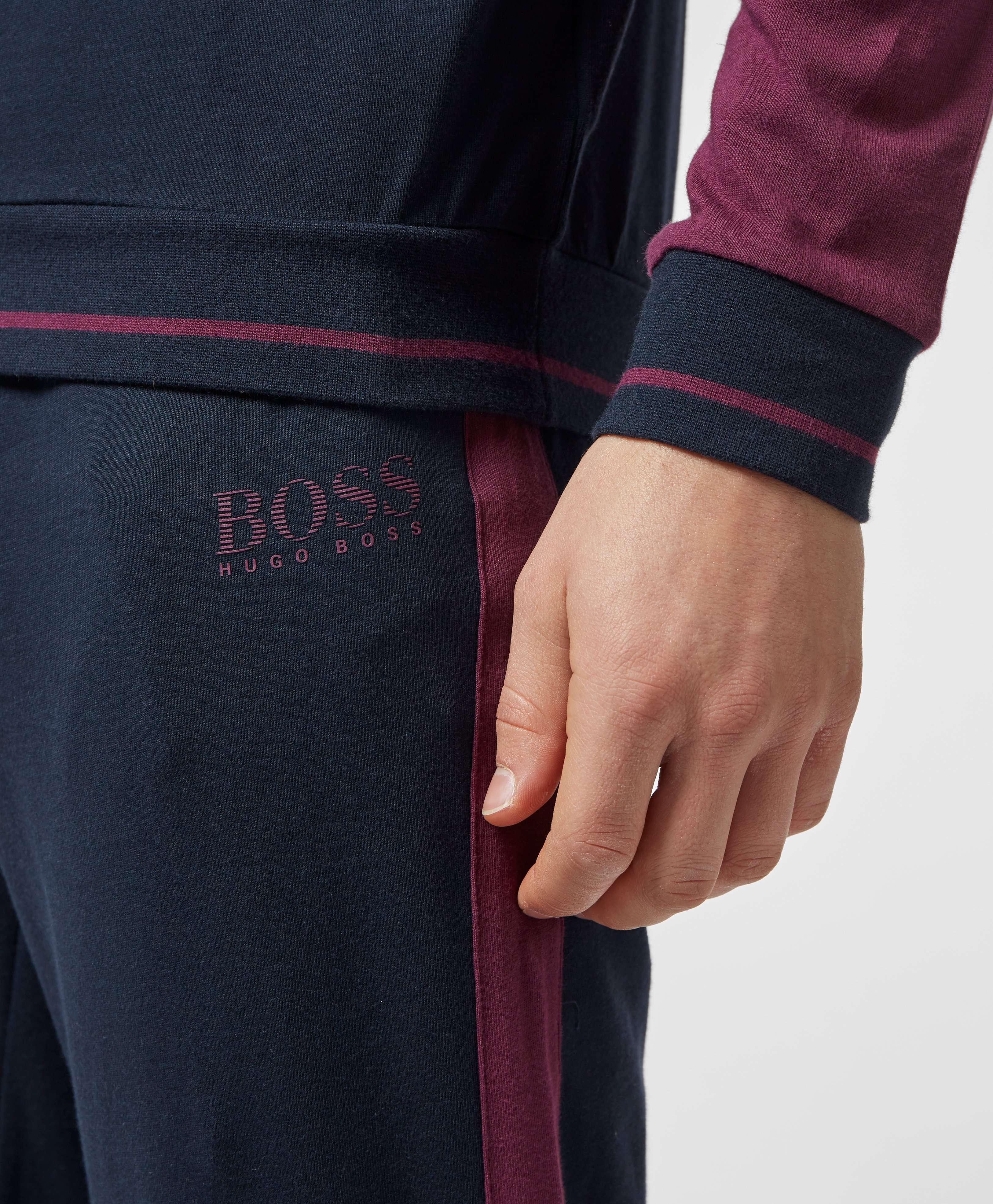BOSS Authentic Cuffed Fleece Pants