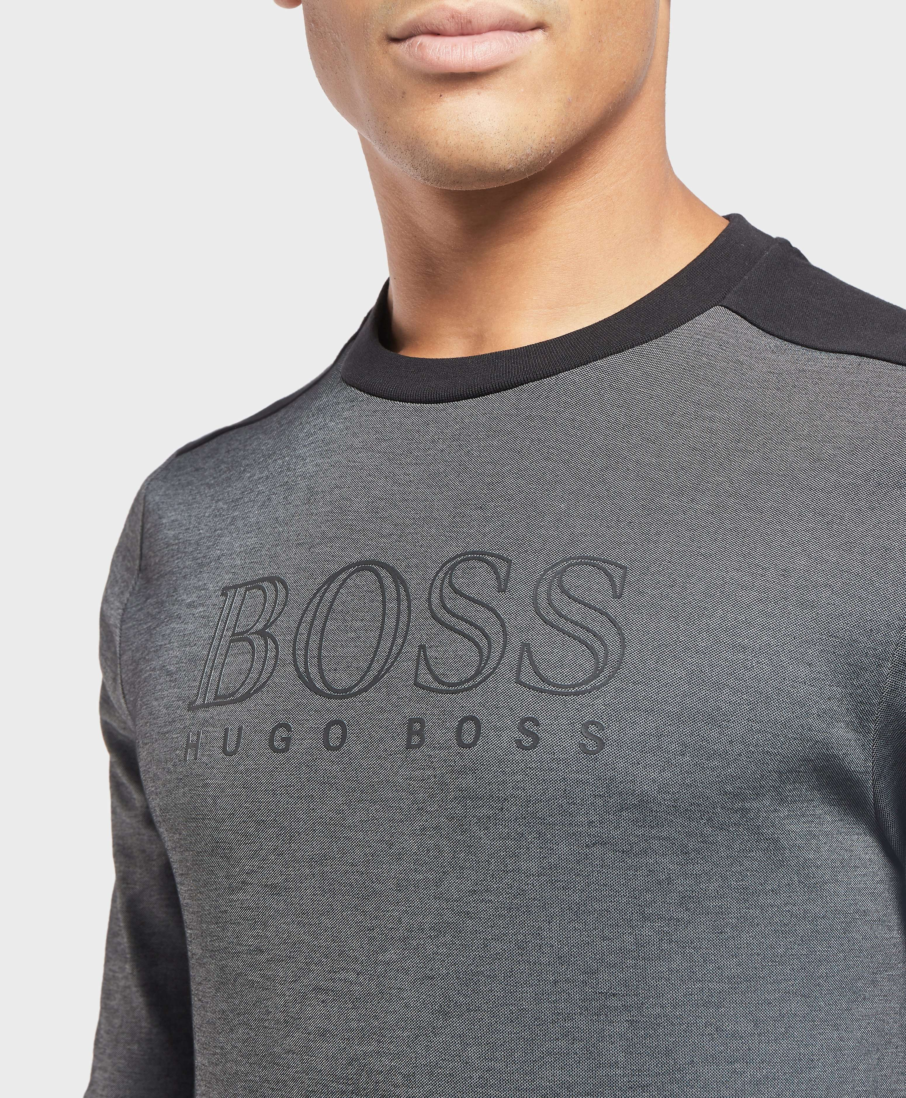 BOSS Poly Pique Logo Sweatshirt