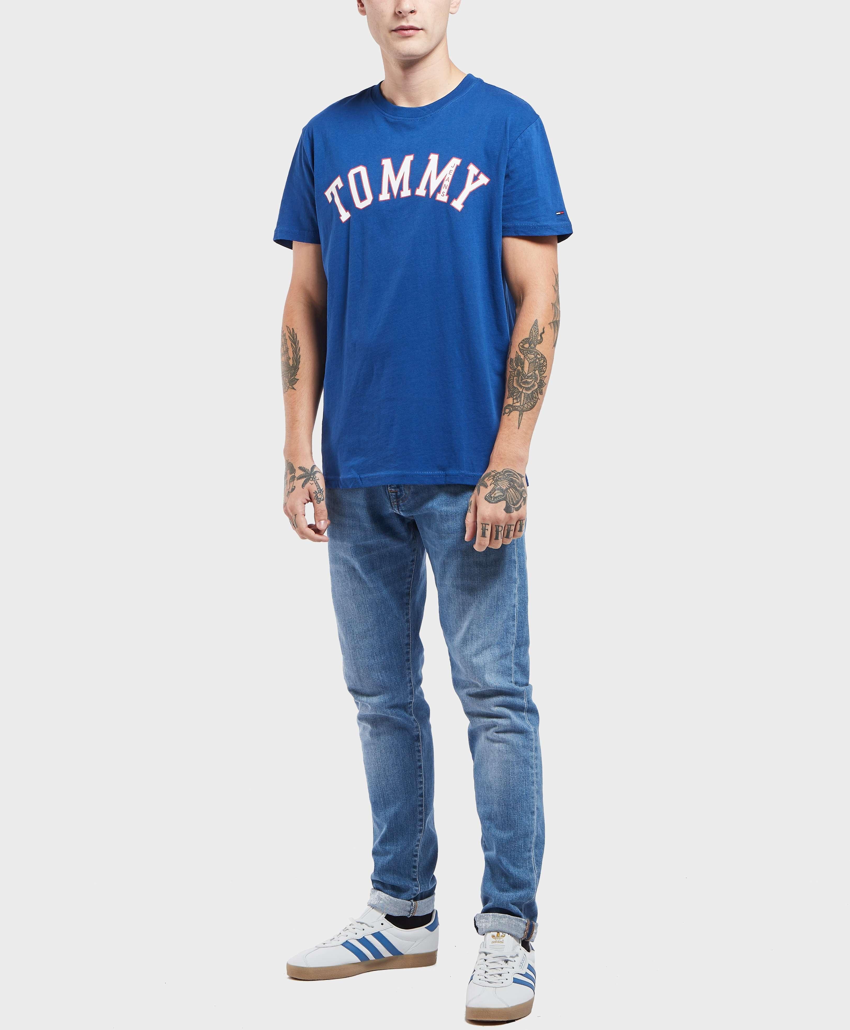 Tommy Jeans Logo Short Sleeve T-Shirt