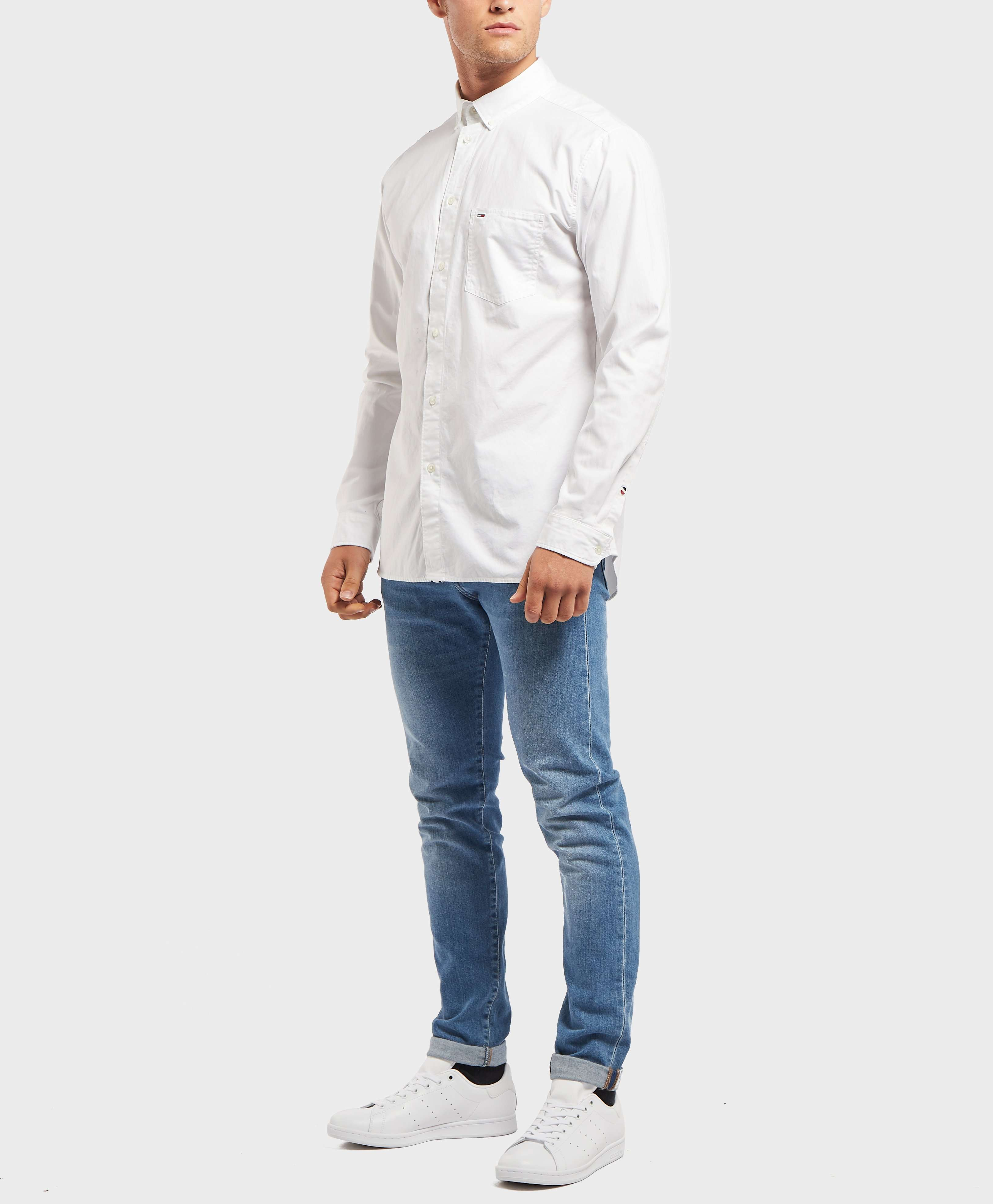 Tommy Jeans Tape Woven Long Sleeve Shirt