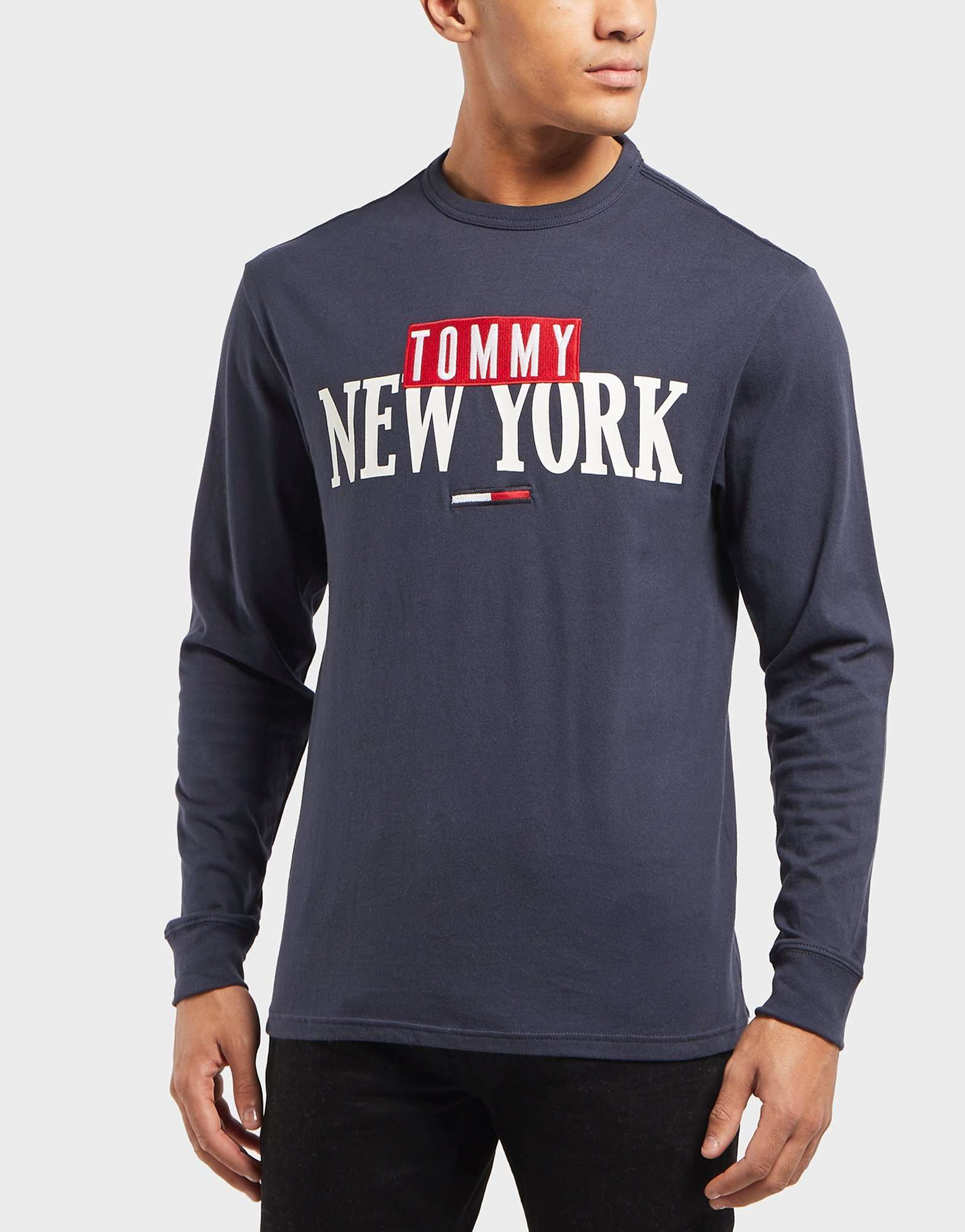 Tommy Jeans New York Long Sleeve T-Shirt  96894f5895ca