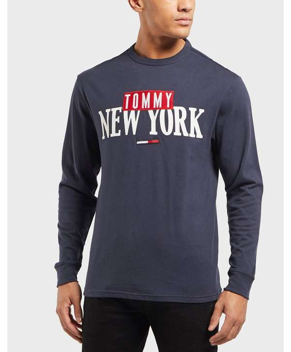 Tommy Jeans New York Long Sleeve T-Shirt 1d121a43759
