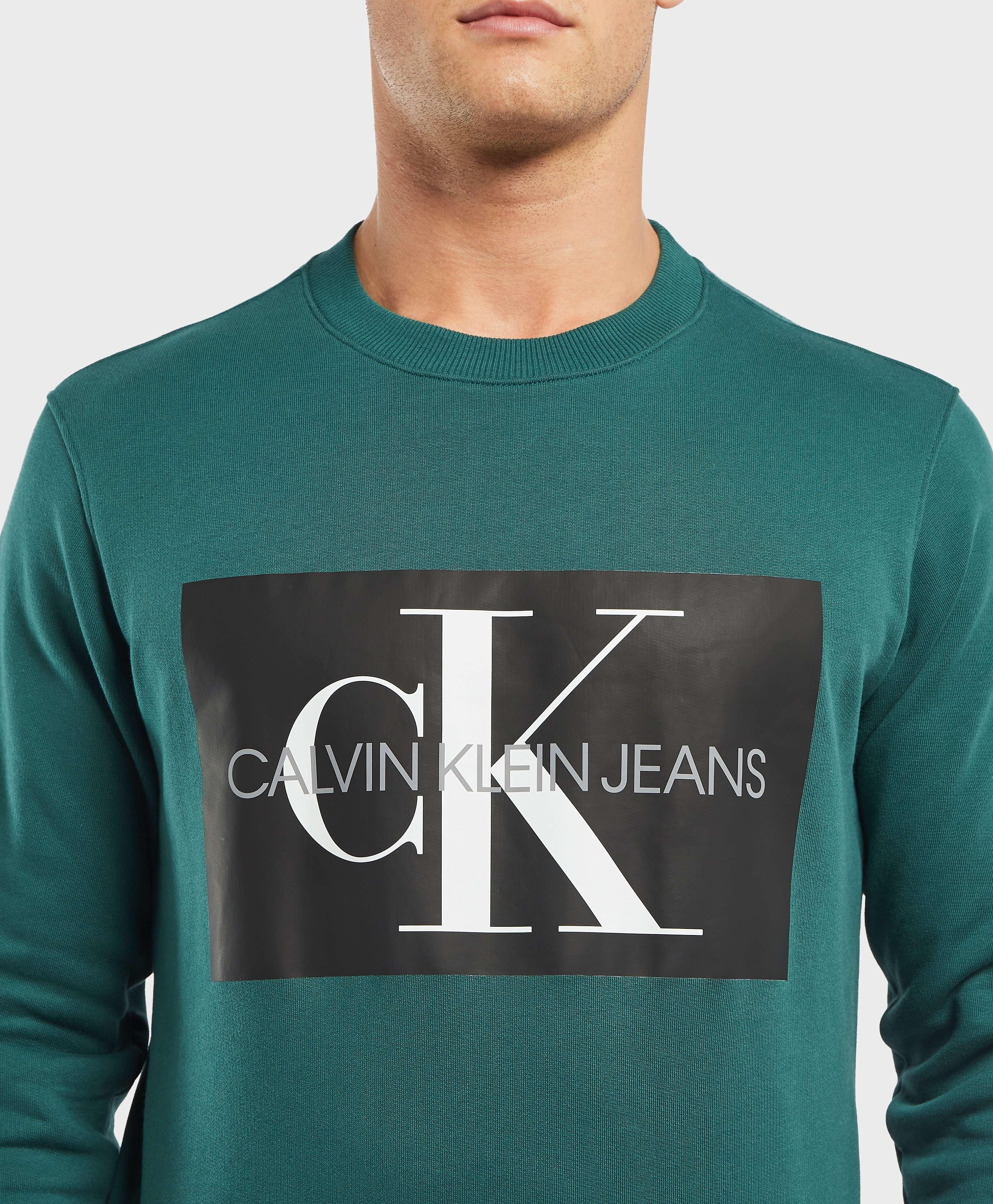Calvin Klein Monogram Box Logo Sweatshirt