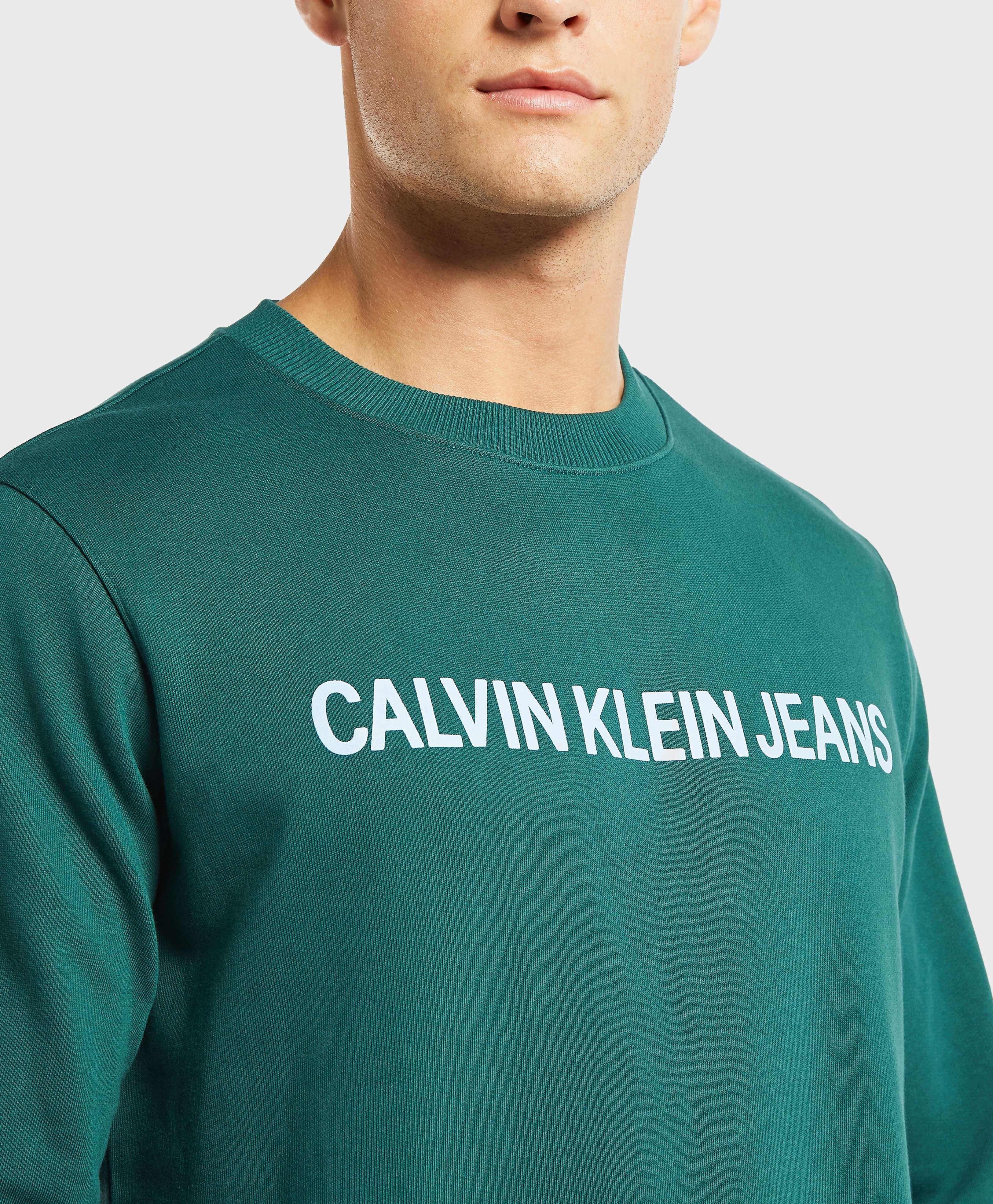 Calvin Klein Institutional Crew Sweatshirt