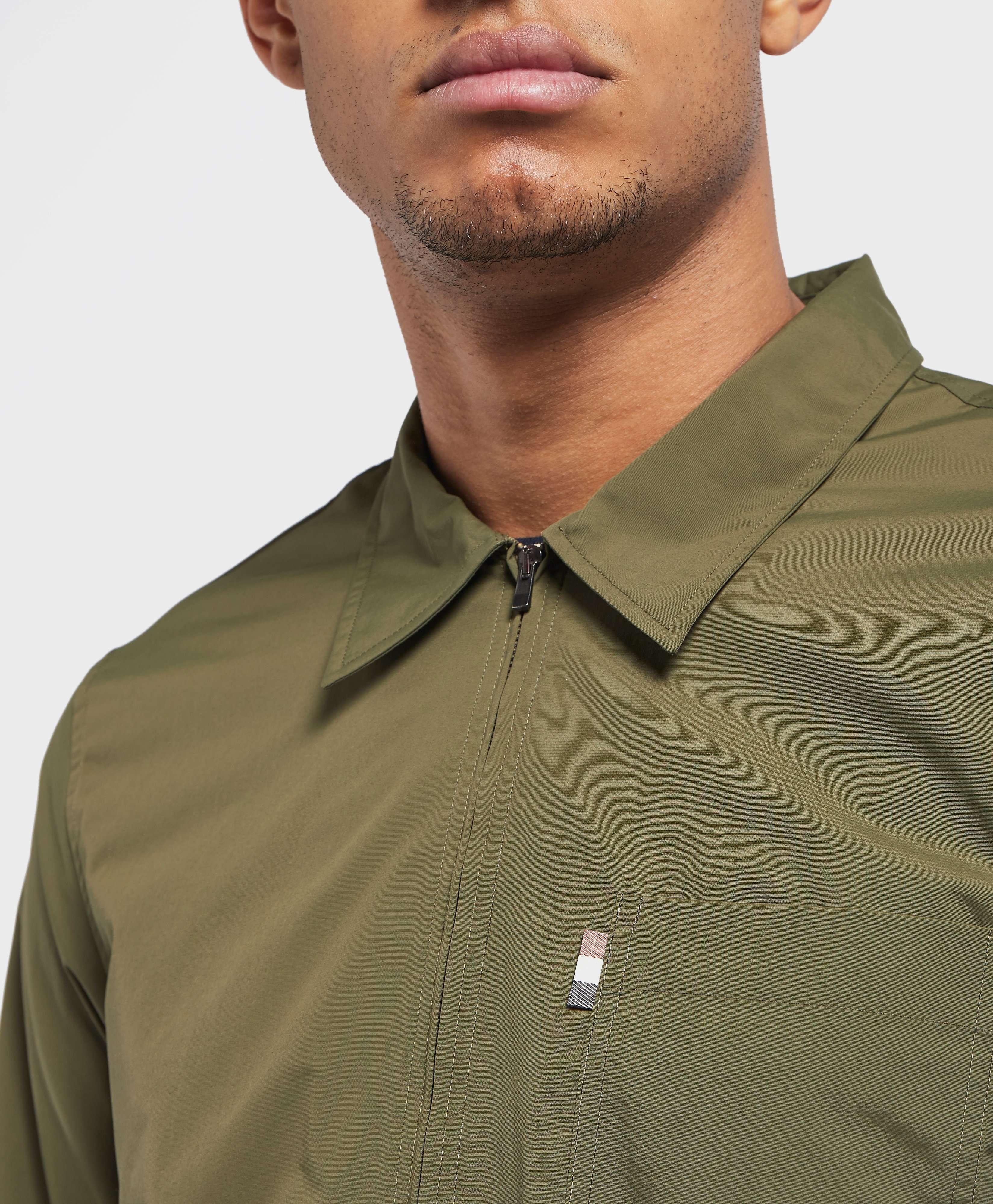 Aquascutum Brodie Zip Overshirt