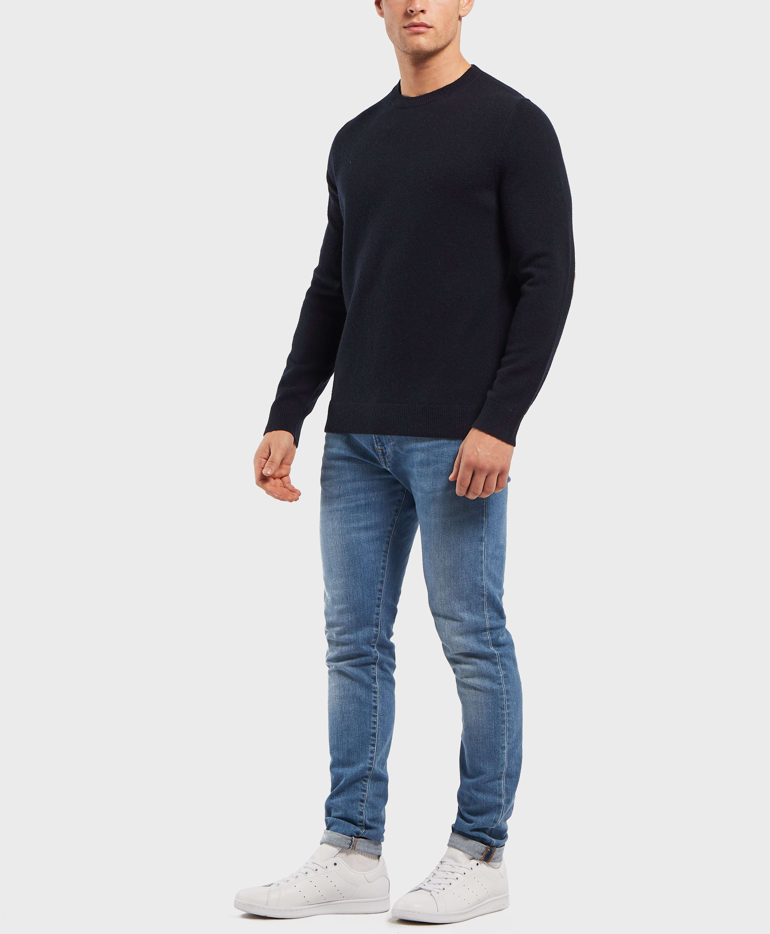 Aquascutum Elbow Patch Knitted Jumper