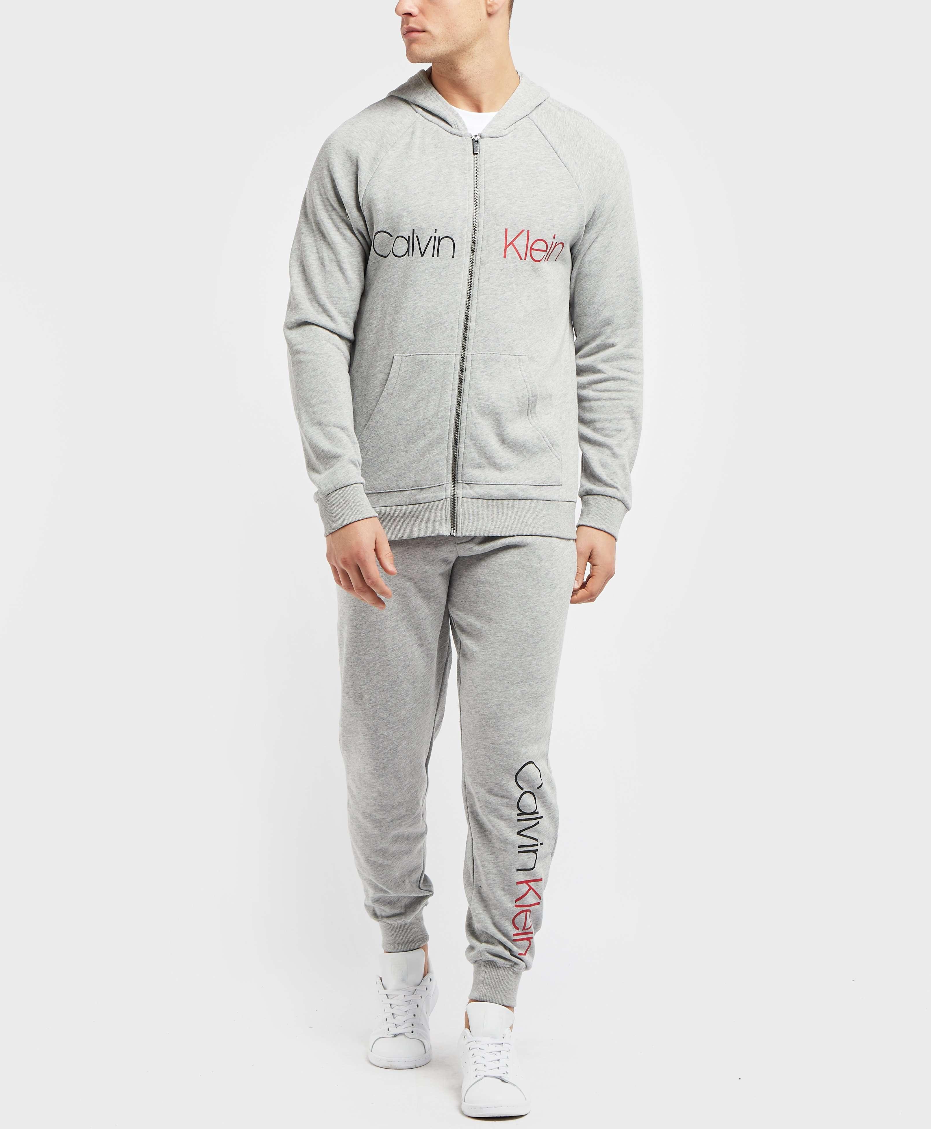 Calvin Klein Split Logo Full Zip Hoodie