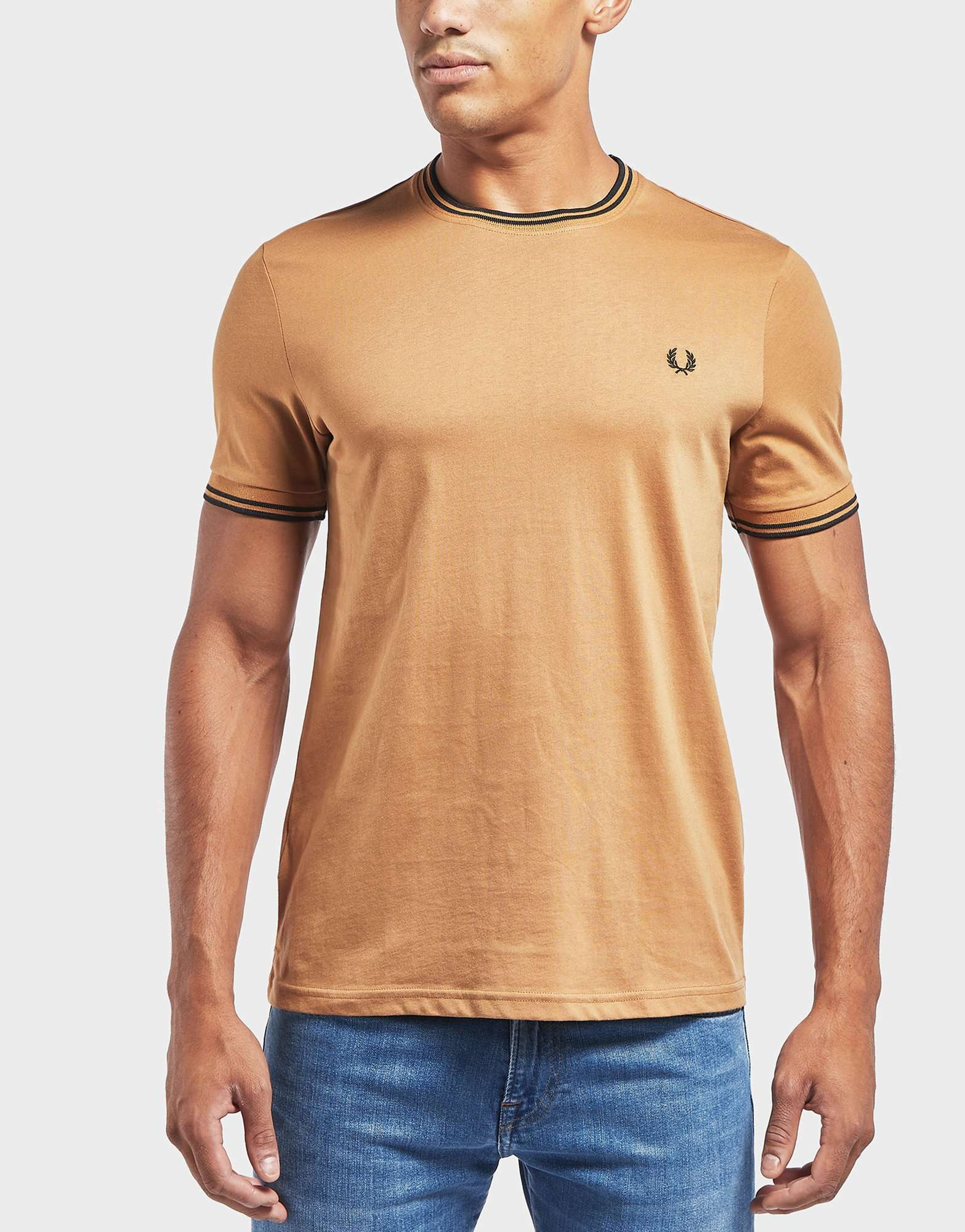 Fred Perry Twin Tipped Short Sleeve T-Shirt