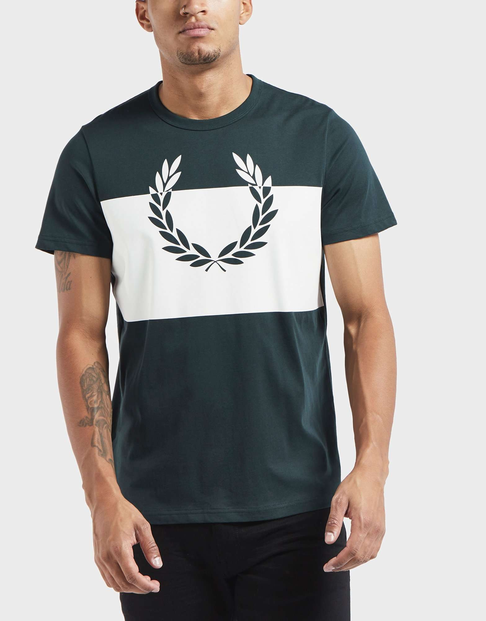 Fred Perry Laurel Block Short Sleeve T-Shirt
