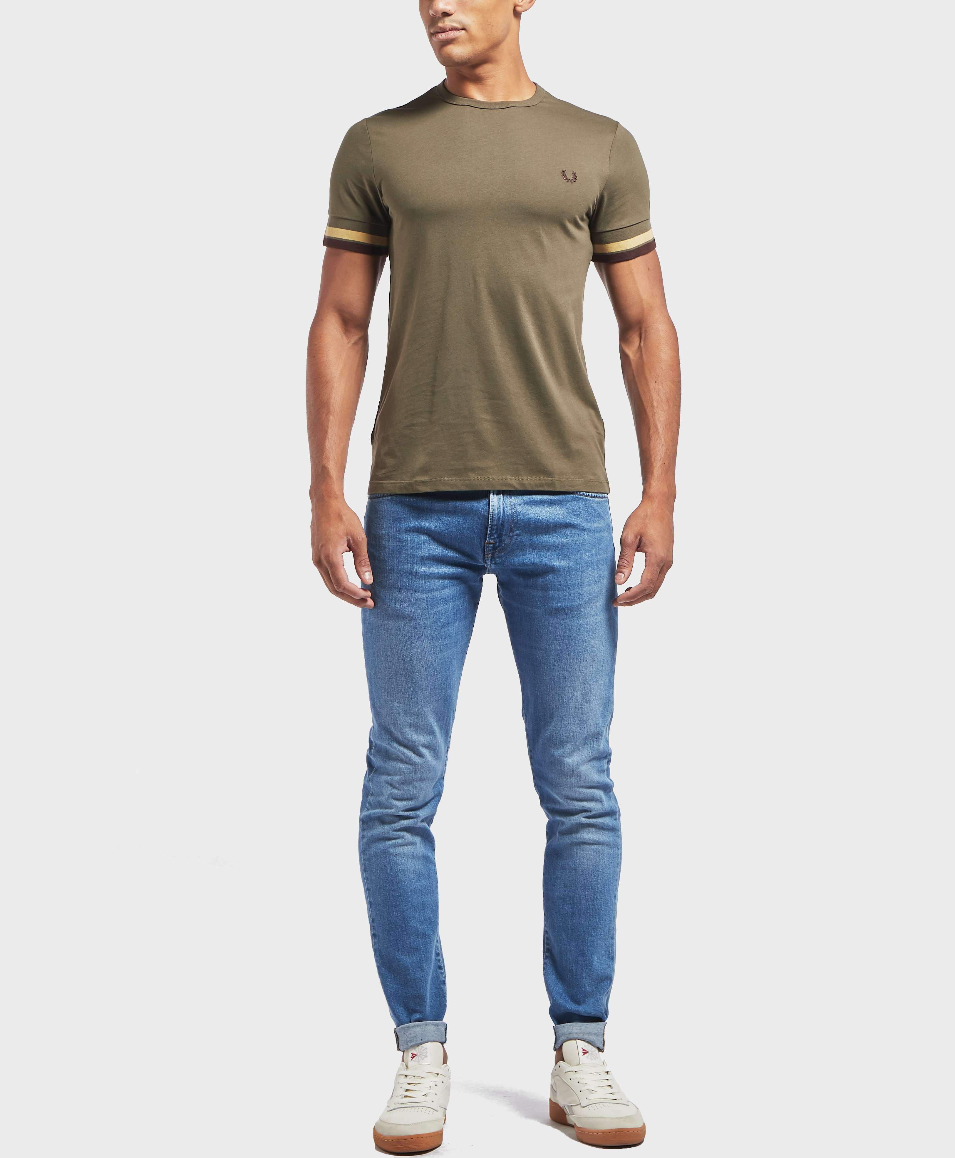 Fred Perry Bold Tipped Short Sleeve T-Shirt