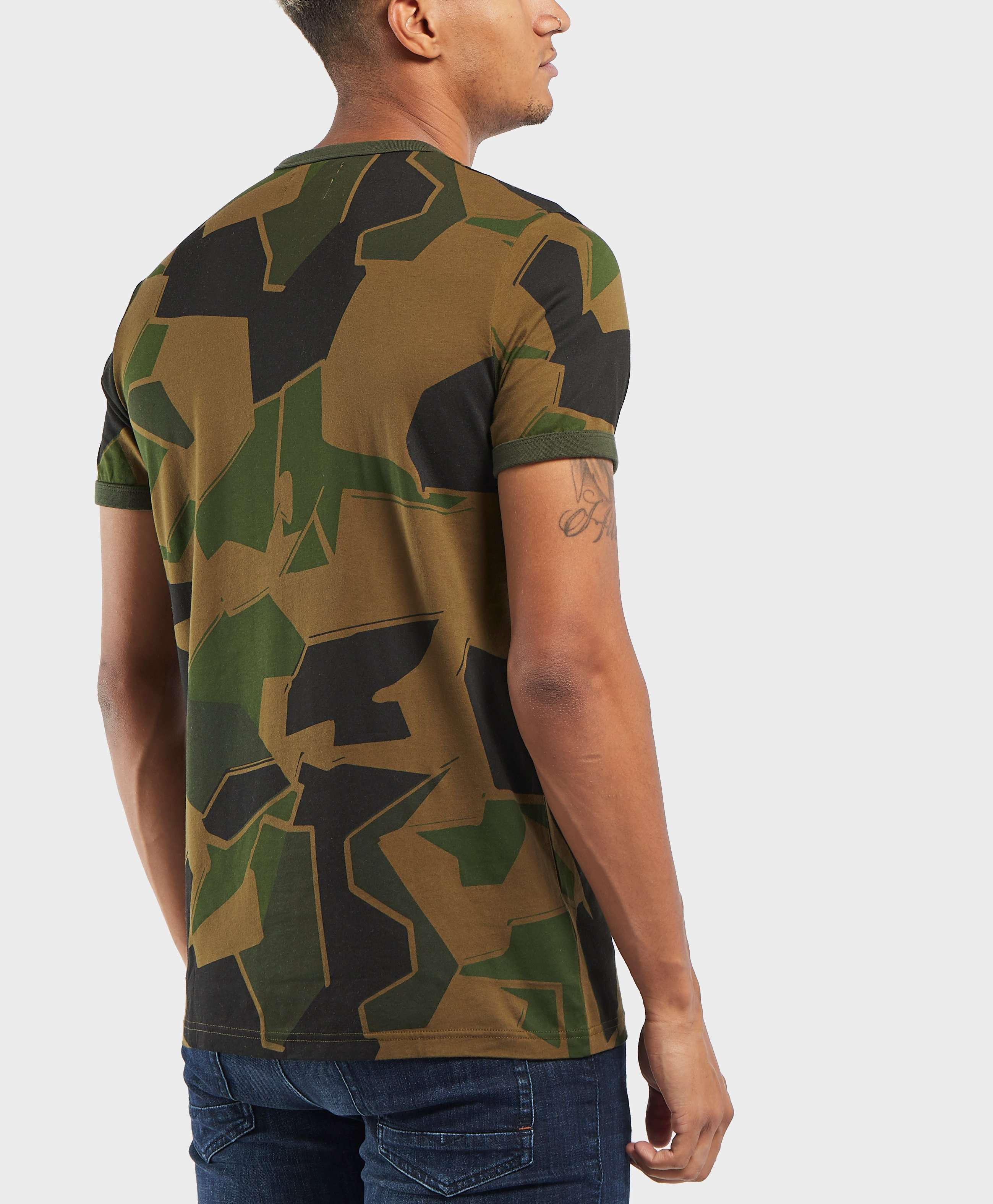 Fred Perry x Arktis Camo Short Sleeve T-Shirt