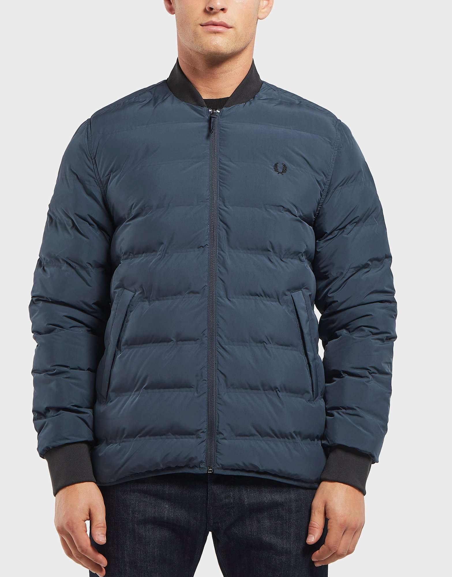 Fred Perry Bomber Collar Bubble Jacket