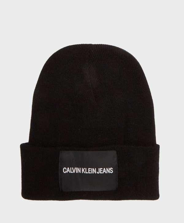 Calvin Klein Patch Beanie  d9148769e8a