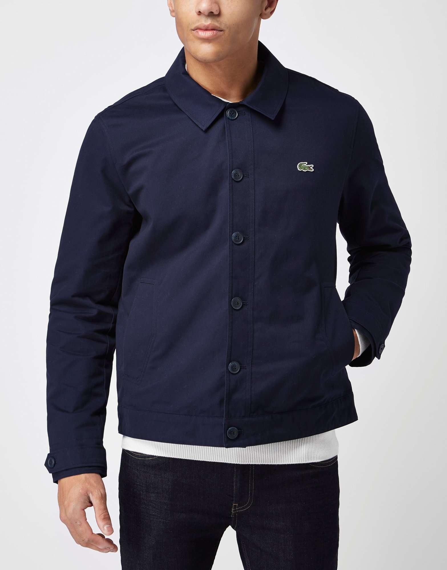 lacoste lightweight mac jacket scotts menswear. Black Bedroom Furniture Sets. Home Design Ideas