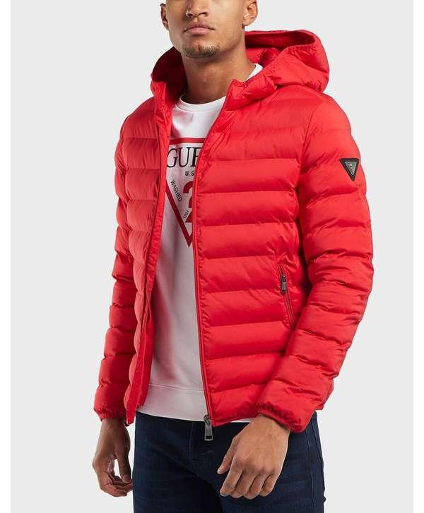 GUESS Seamless Bubble Jacket   scotts Menswear 697b11a00d5