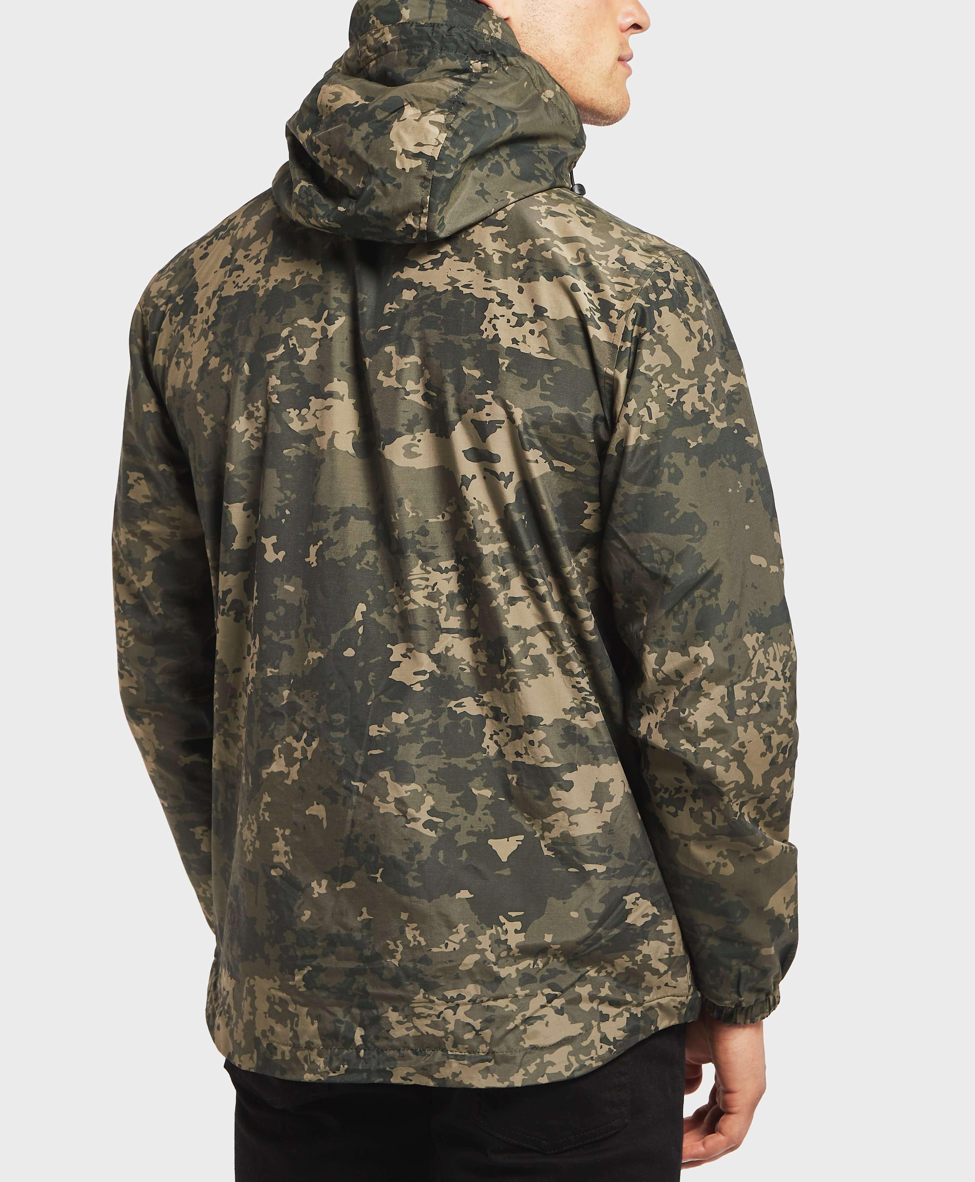 Lyle & Scott Moss Print Lightweight Jacket
