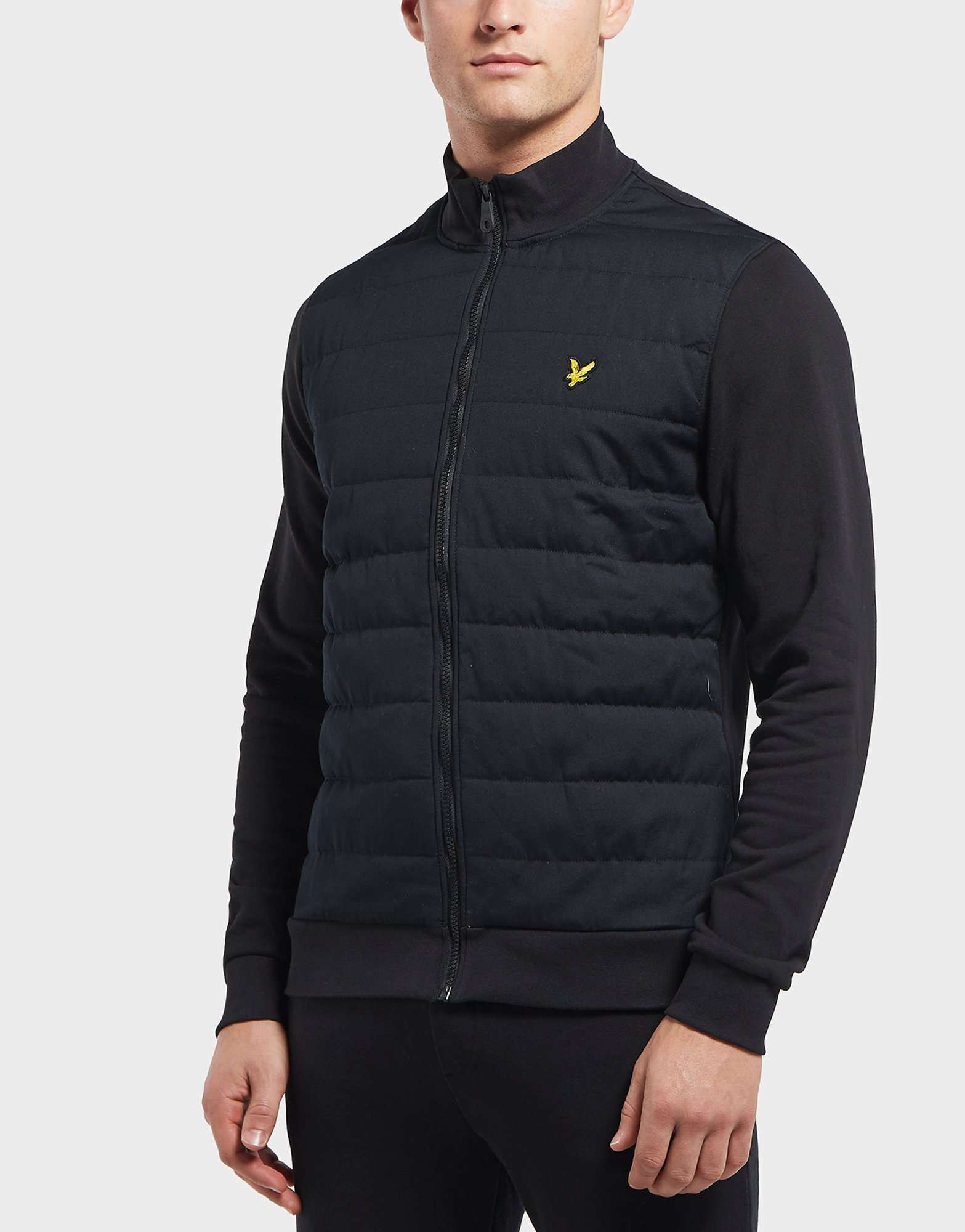 Lyle & Scott Baffle Funnel Neck Track Top